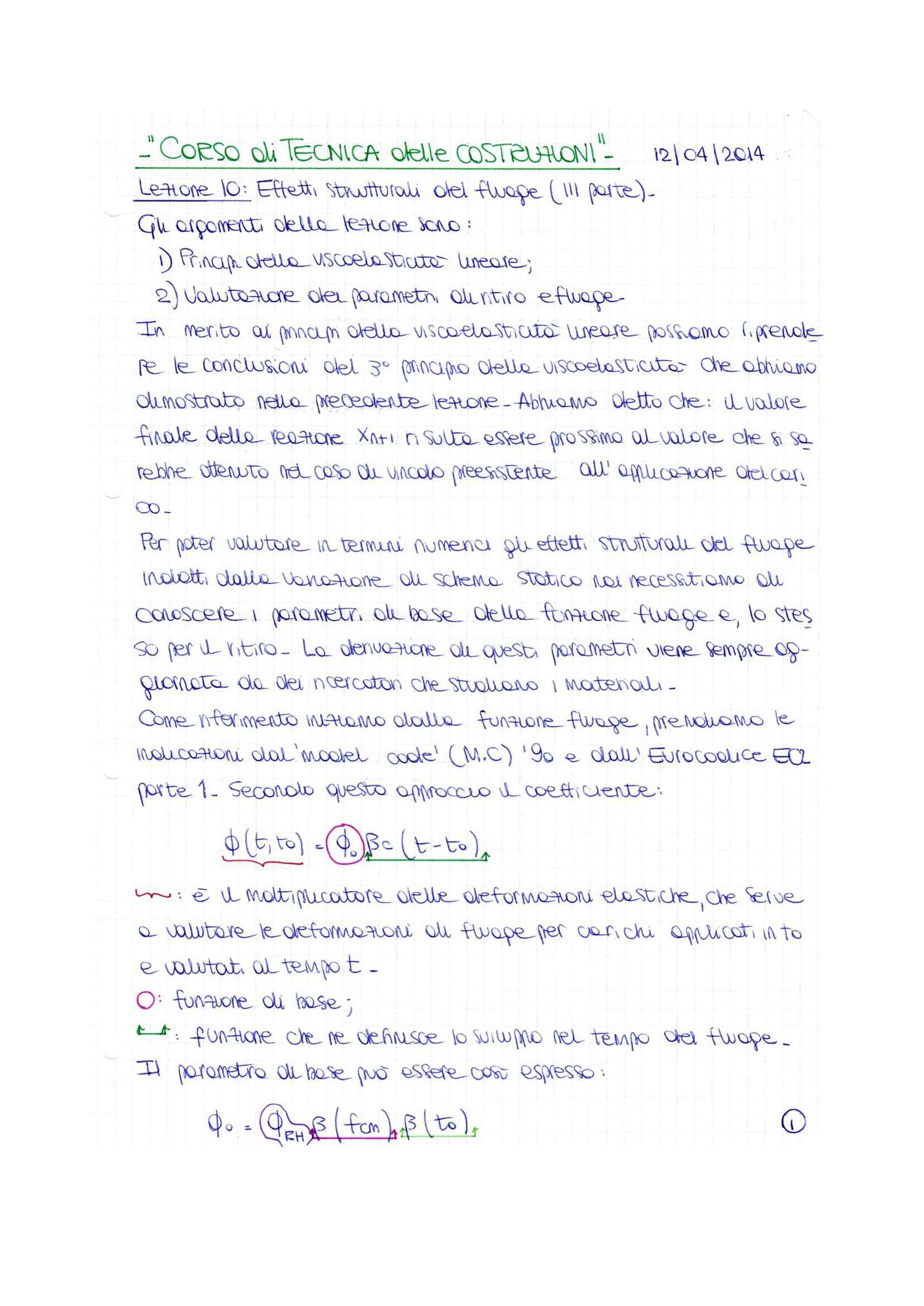 Tecnica delle costruzioni - lezione 10 Pag. 2
