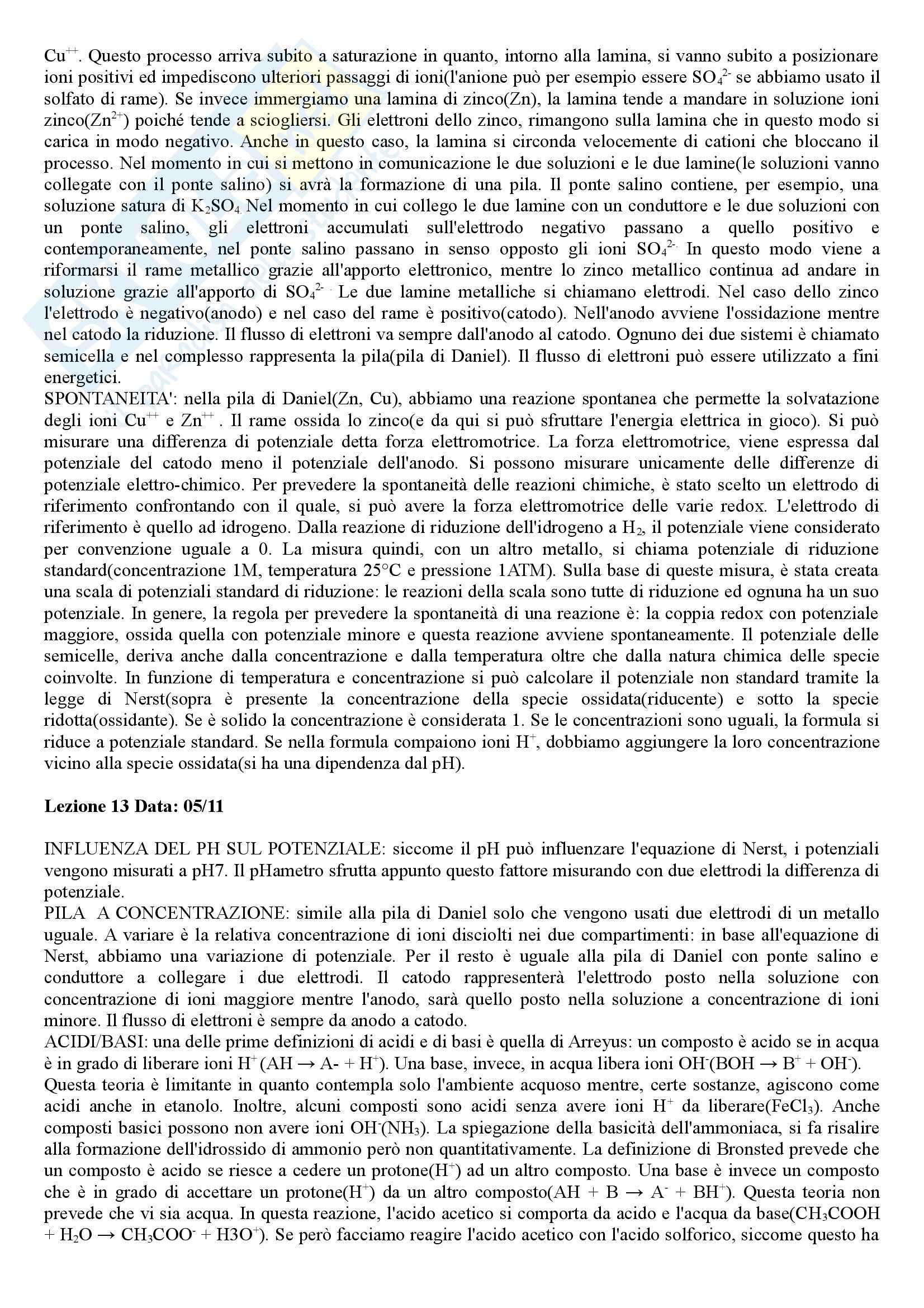 Chimica e Propedeutica biochimica - Appunti Pag. 11