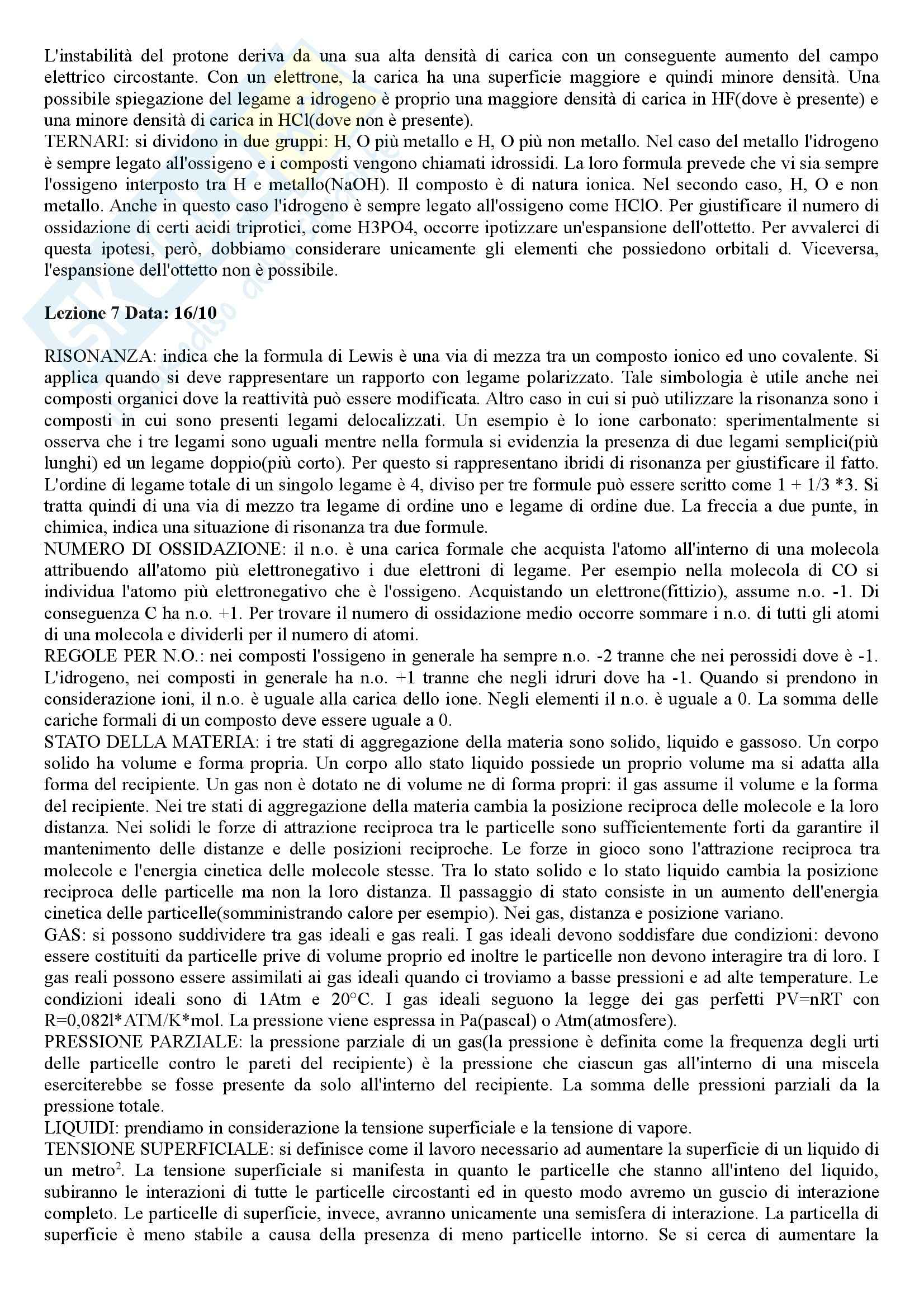 Chimica e Propedeutica biochimica - Appunti Pag. 6