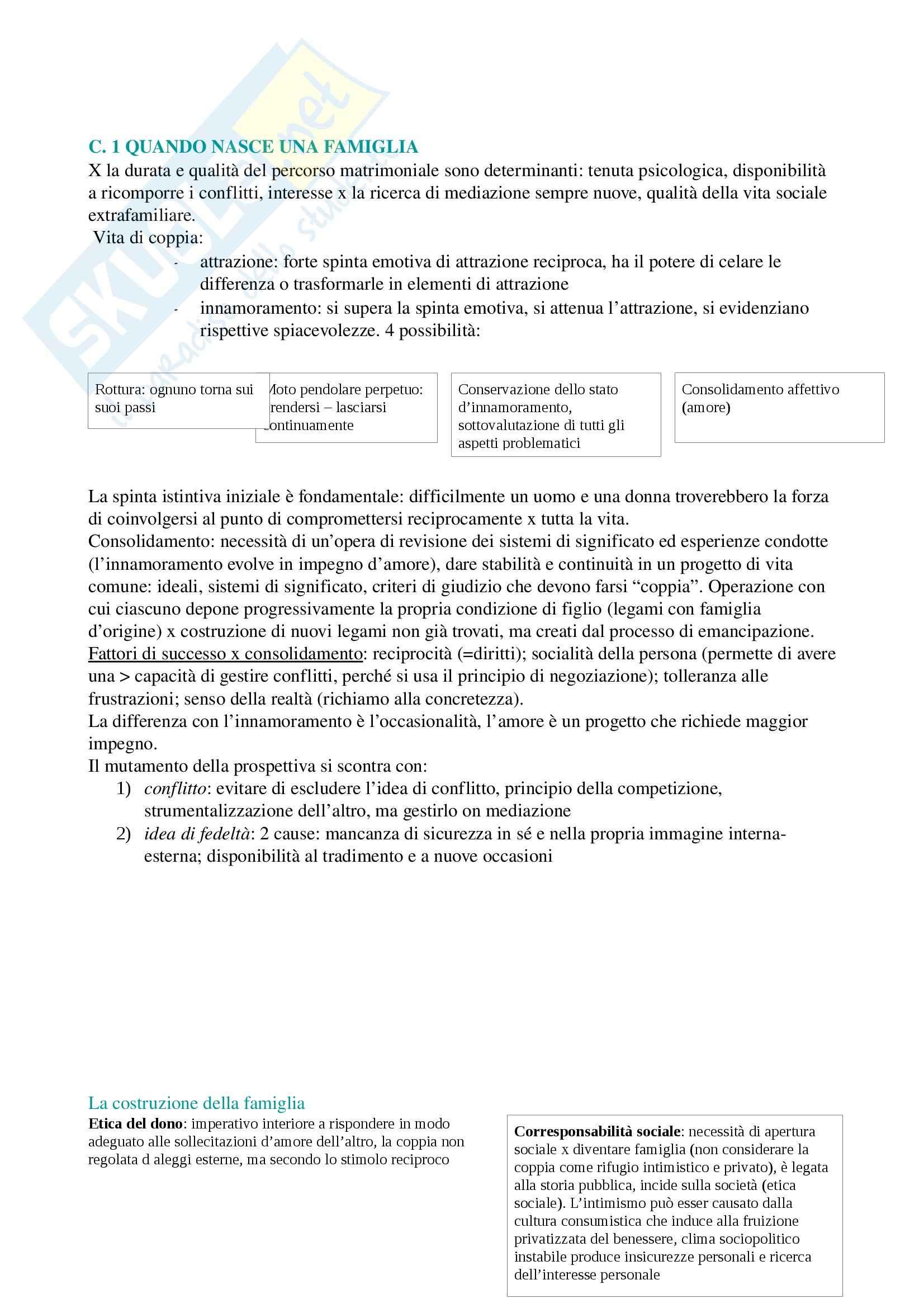 Riassunto esame Pedagogia, prof. Chiosso, libro consigliato La famiglia difficile, Chiosso, Tortello