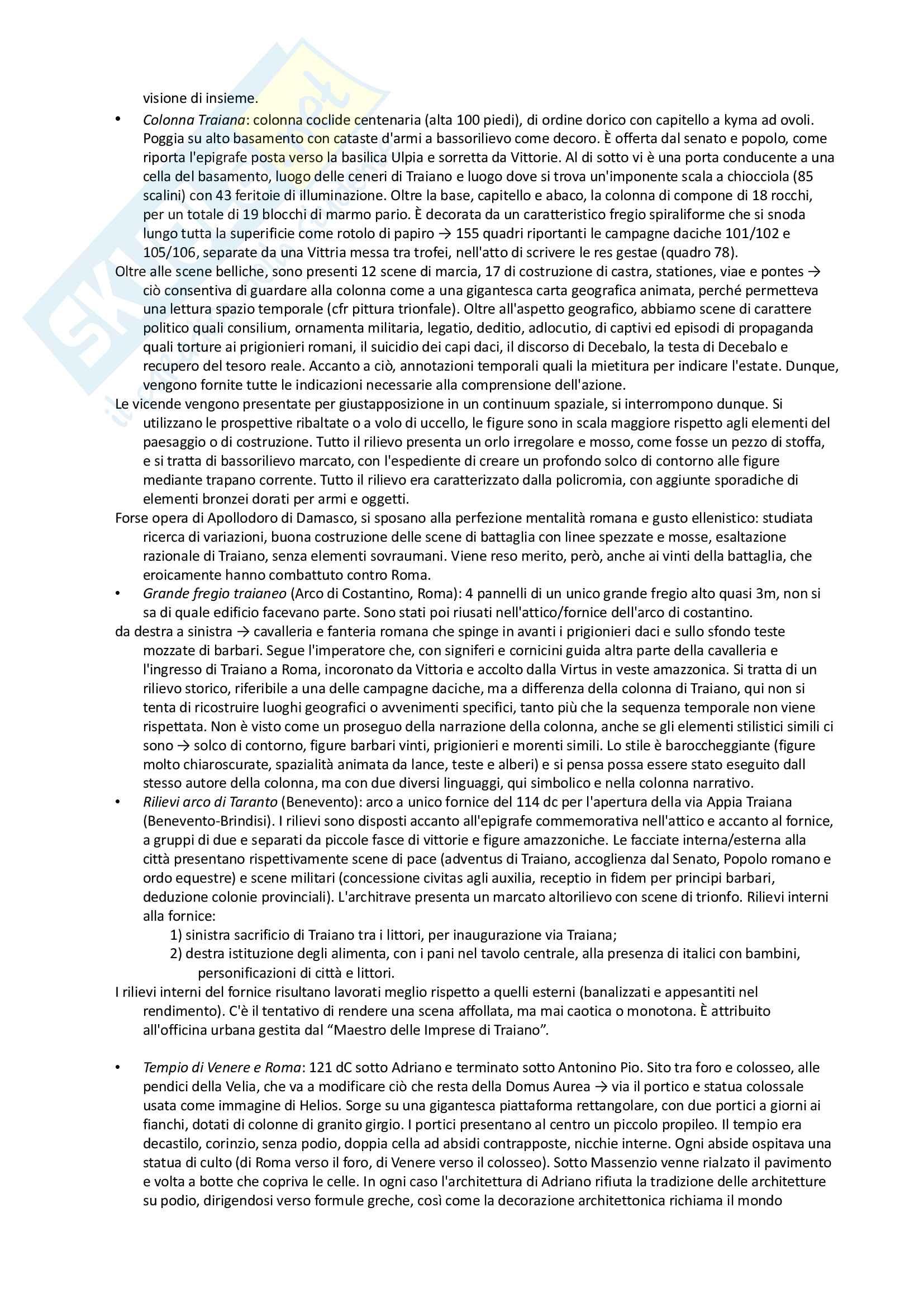 Riassunto esame archeologia romana, prof. Angiolillo, testo consigliato L'Arte dell'Antichità Classica (Etruria Roma) di Bianchi Bandinelli, Torelli Pag. 31