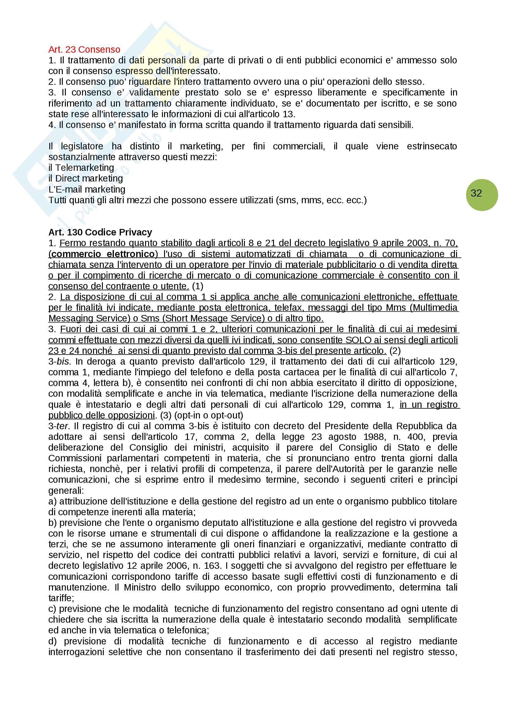 Domande e risposte, Informatica giuridica Pag. 21
