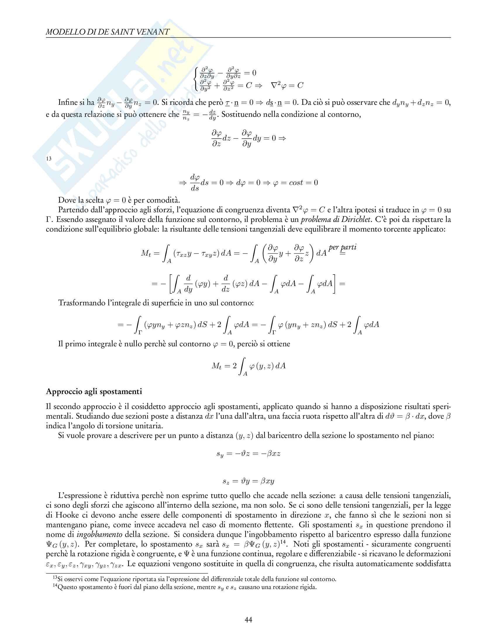 Appunti di Fondamenti di Meccanica Strutturale Pag. 46