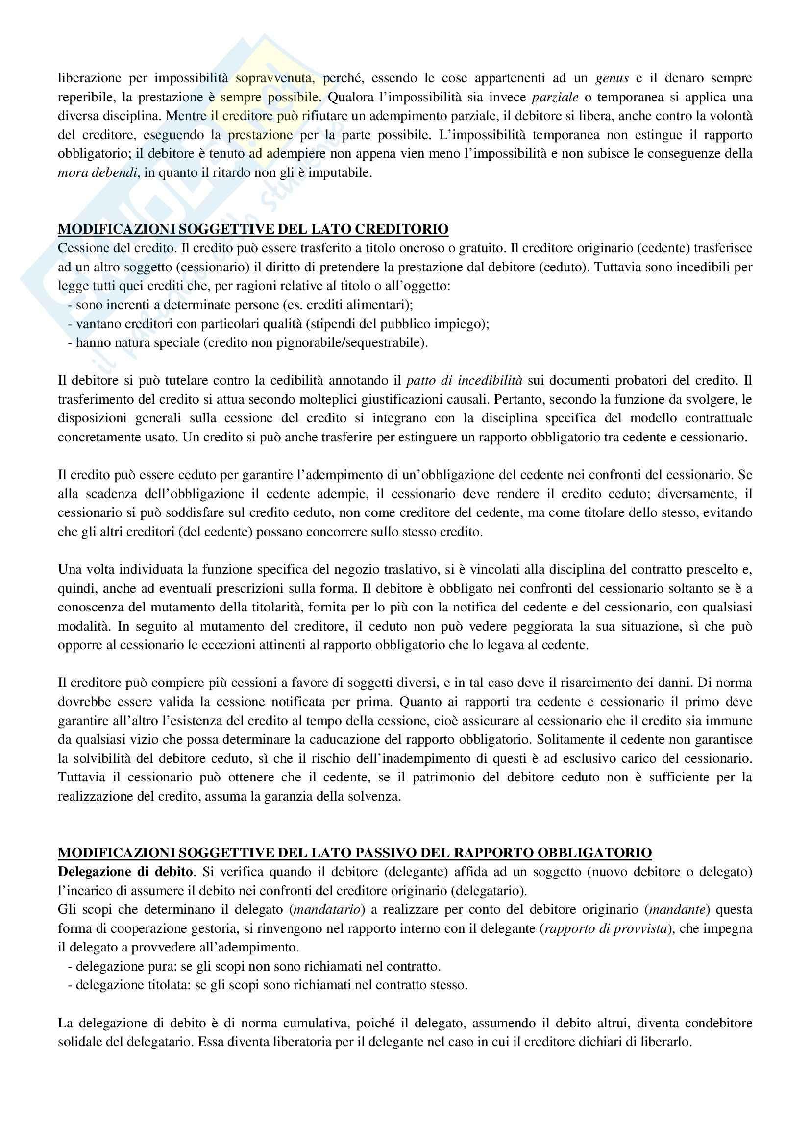 Riassunto esame Diritto Privato, prof. Ciocia, libro consigliato Istituzioni di Diritto Civile, Perlingieri Pag. 26