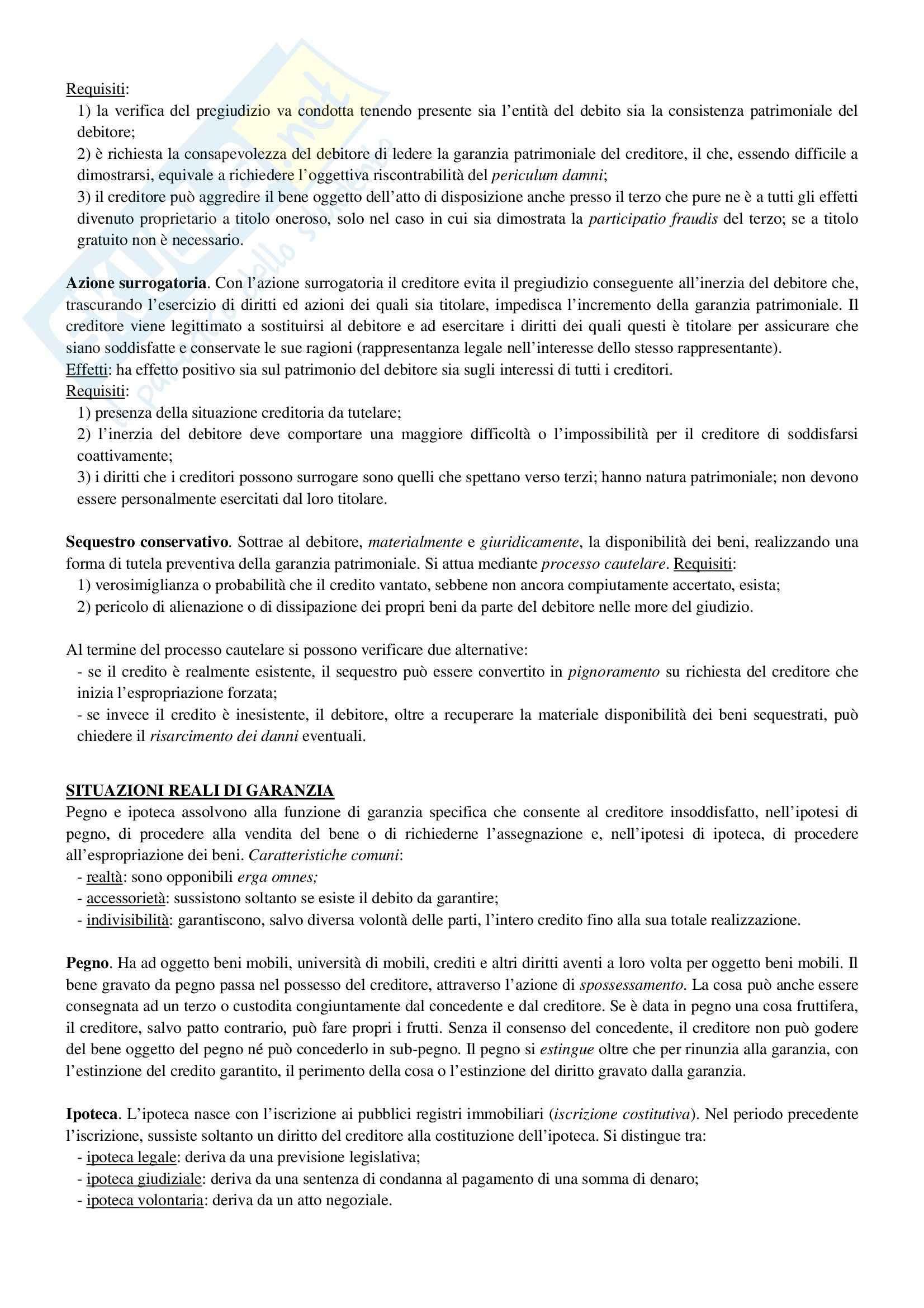 Riassunto esame Diritto Privato, prof. Ciocia, libro consigliato Istituzioni di Diritto Civile, Perlingieri Pag. 31