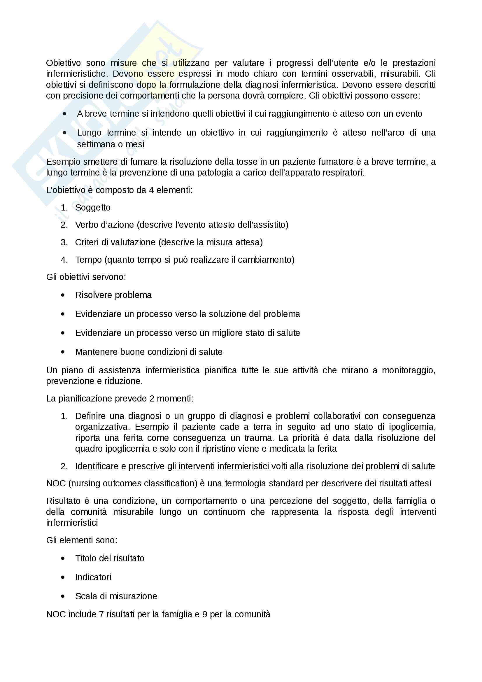 Processo infermieristico Pag. 6
