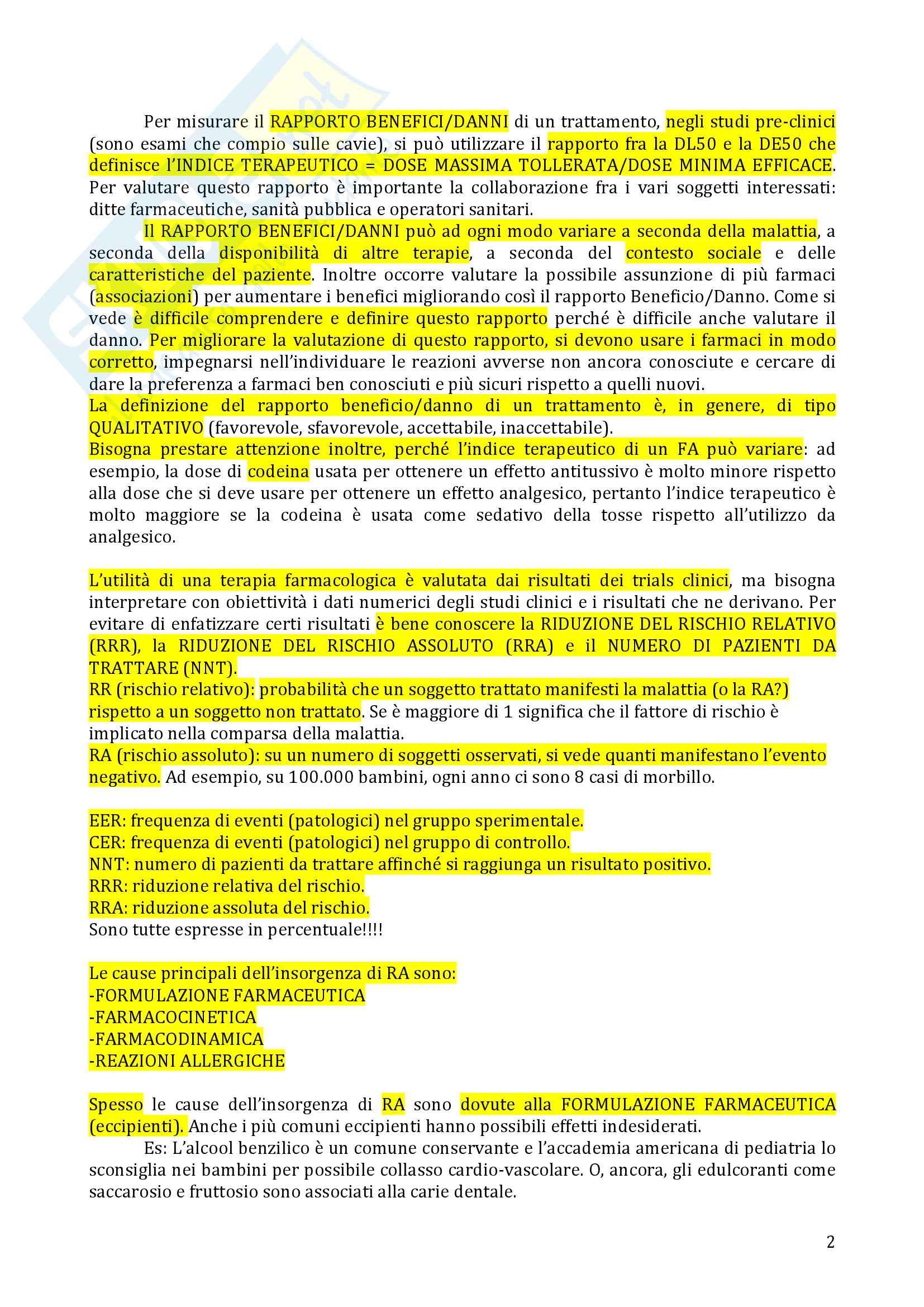 Farmacovigilanza Pag. 2