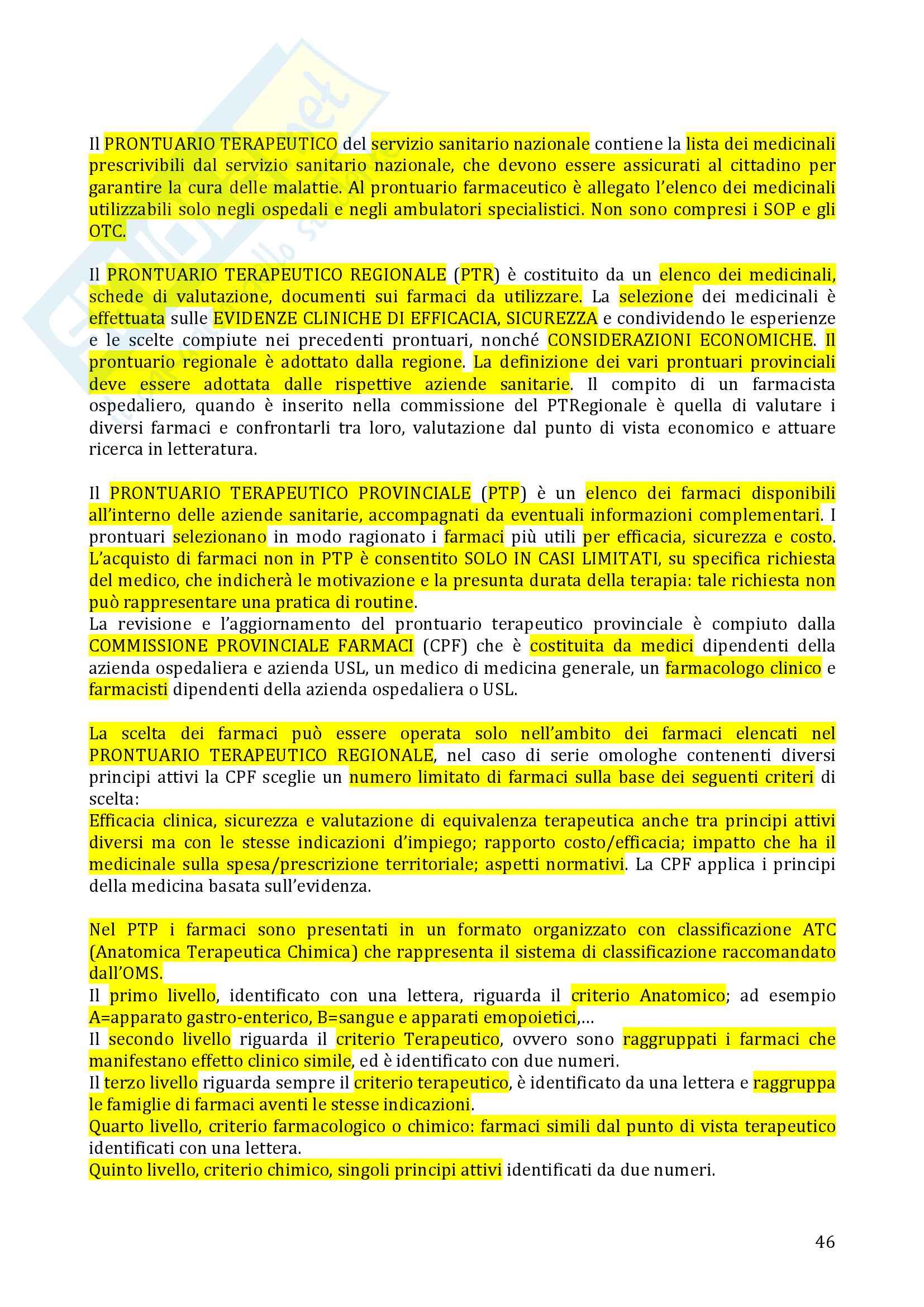 Farmacovigilanza Pag. 46