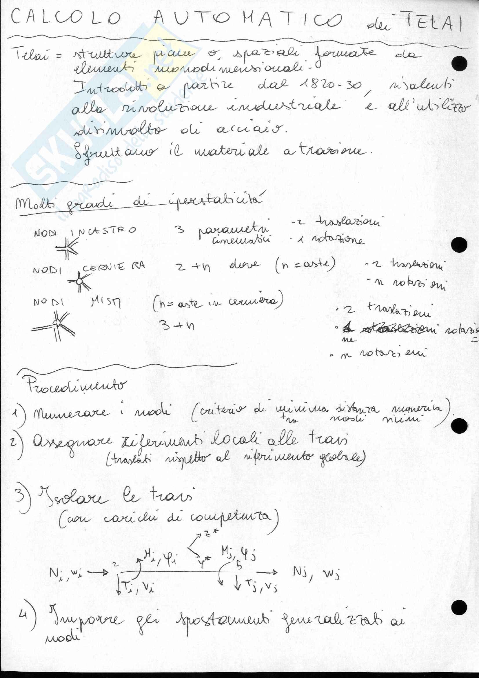 Lezioni e appunti di Scienza delle Costruzioni 2 Pag. 11