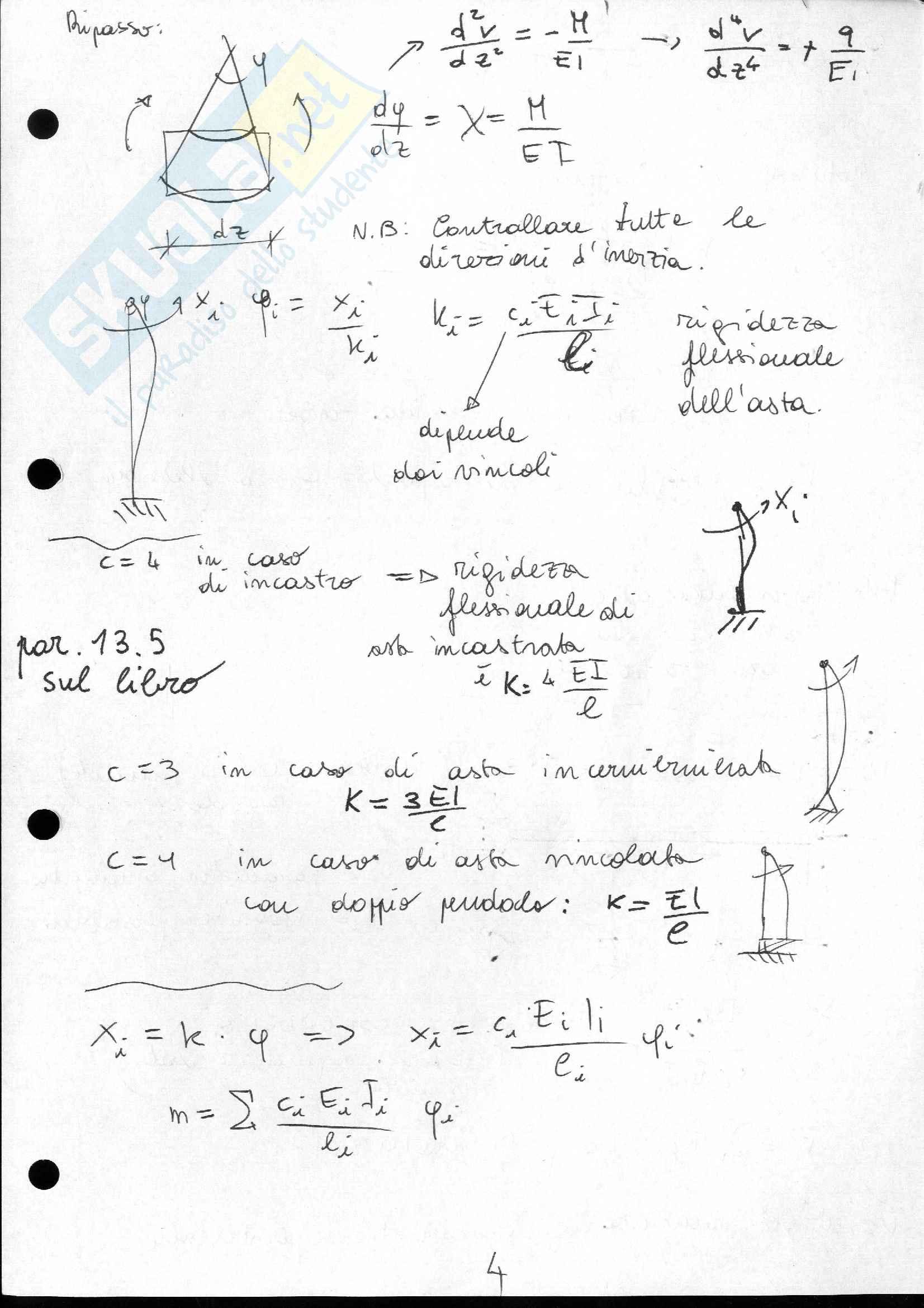Lezioni e appunti di Scienza delle Costruzioni 2 Pag. 6