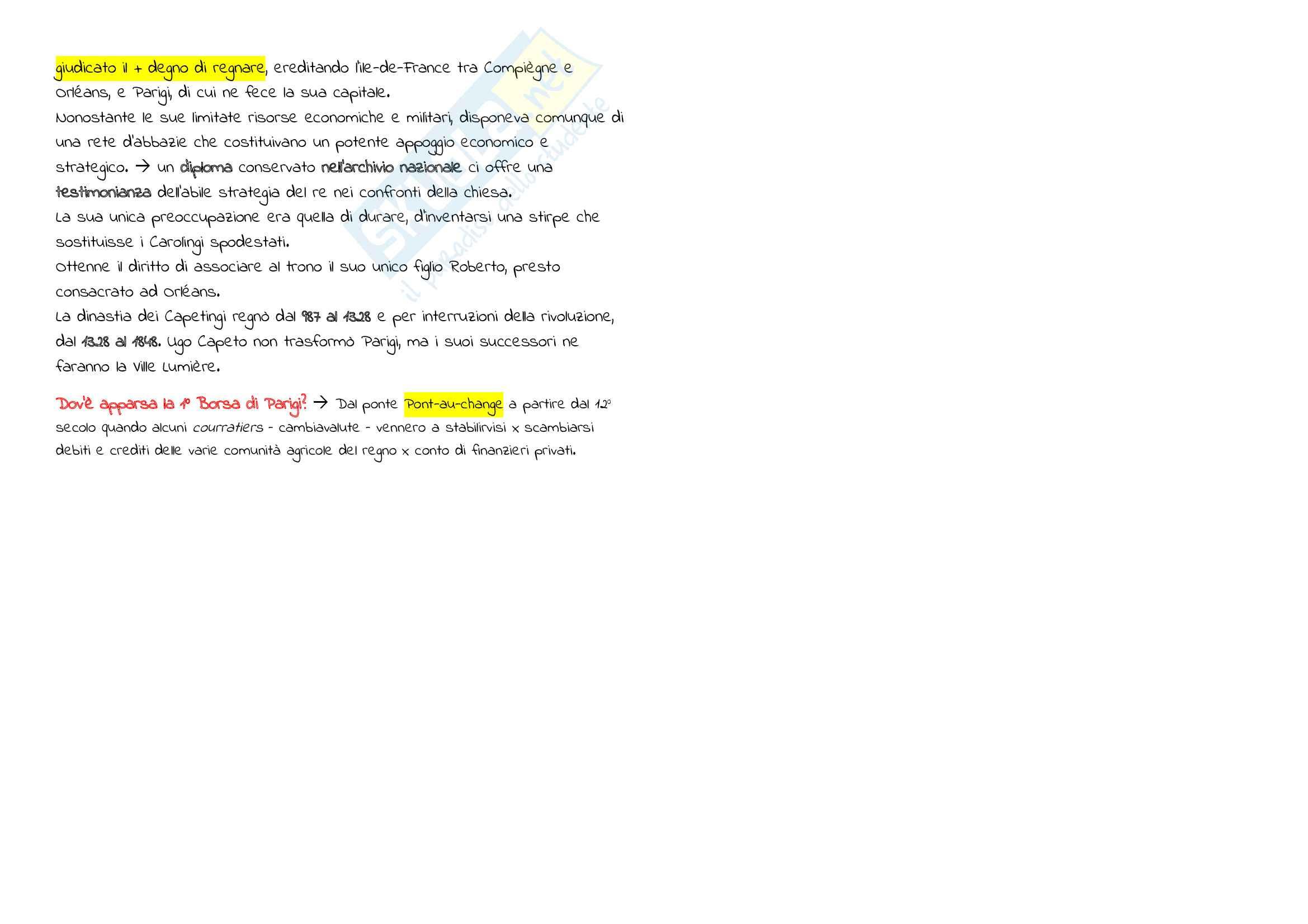 Riassunto Esame Cultura Francese, prof. Maiorano, libro consigliato Metronome, Deutsch Pag. 21