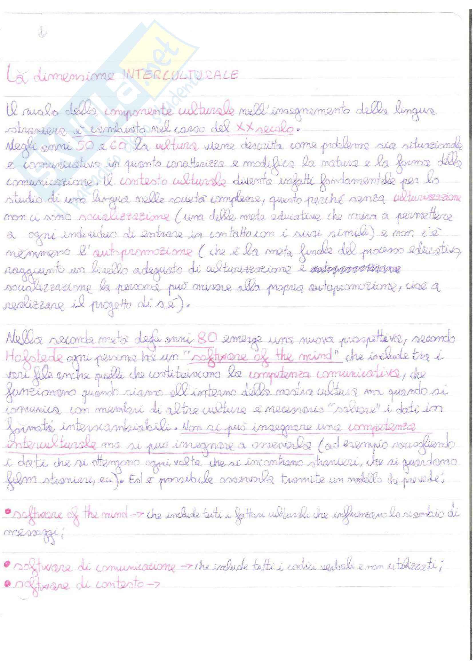 Riassunto esame Didattica delle lingue straniere moderne, prof. Desideri, libro consigliato Le sfide di Babele, Balboni Pag. 31