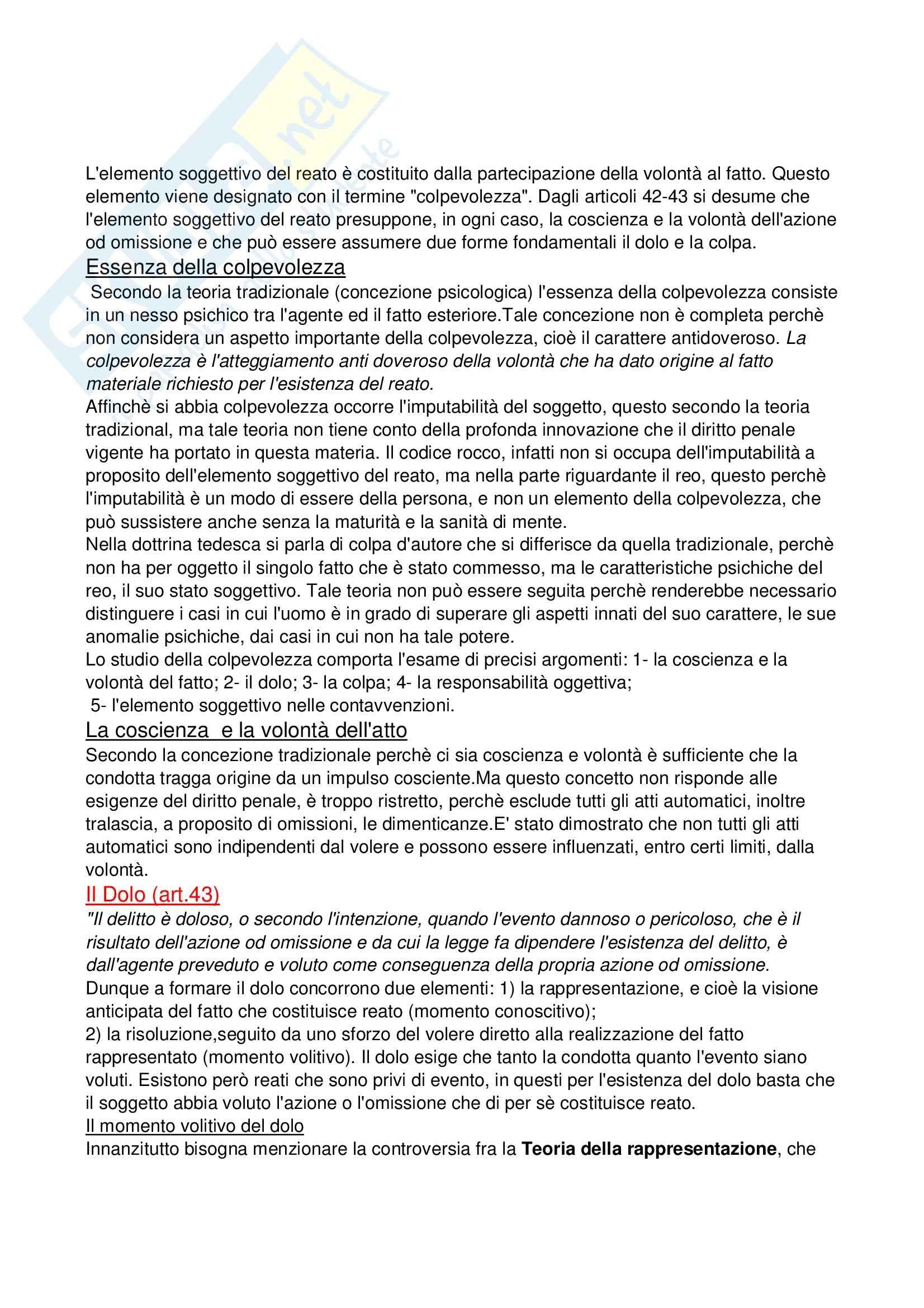 Riassunto esame Diritto Penale, prof. Gambardella, libro consigliato Manuale di Diritto Penale, Antolisei Pag. 16