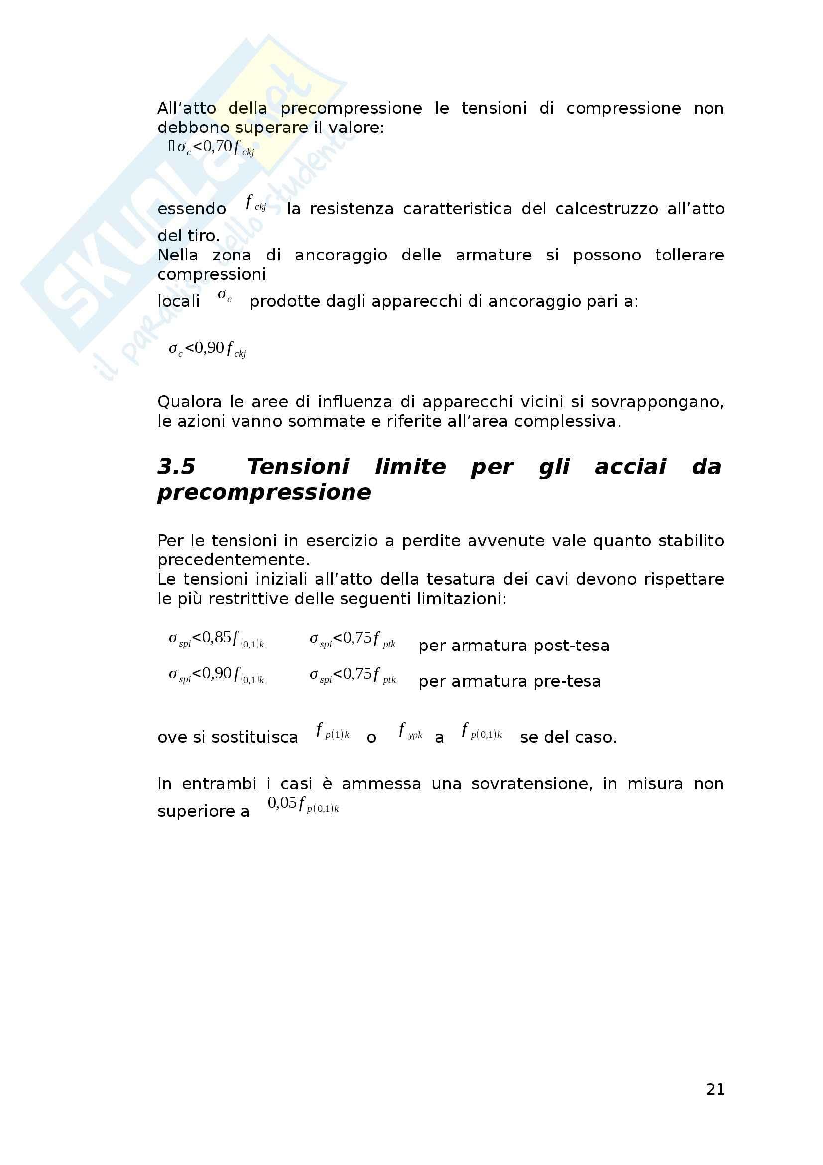 Tesi - Verifiche di travi in calcestruzzo armato precompresso secondo il D.M. 09/01/1996 e il D.M. 14/01/2008 Pag. 21