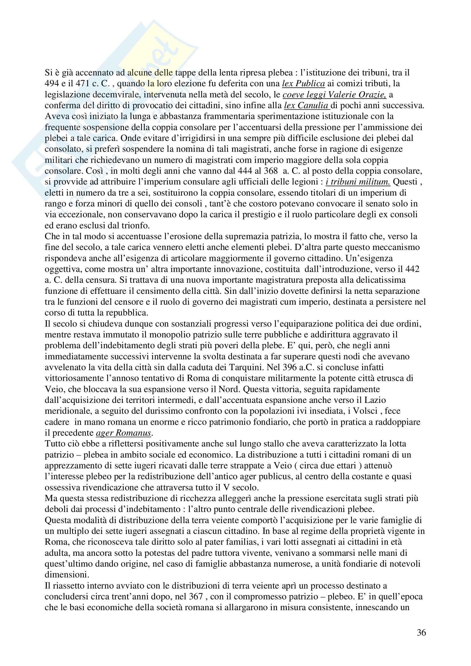 Storia di diritto romano - Appunti Pag. 36