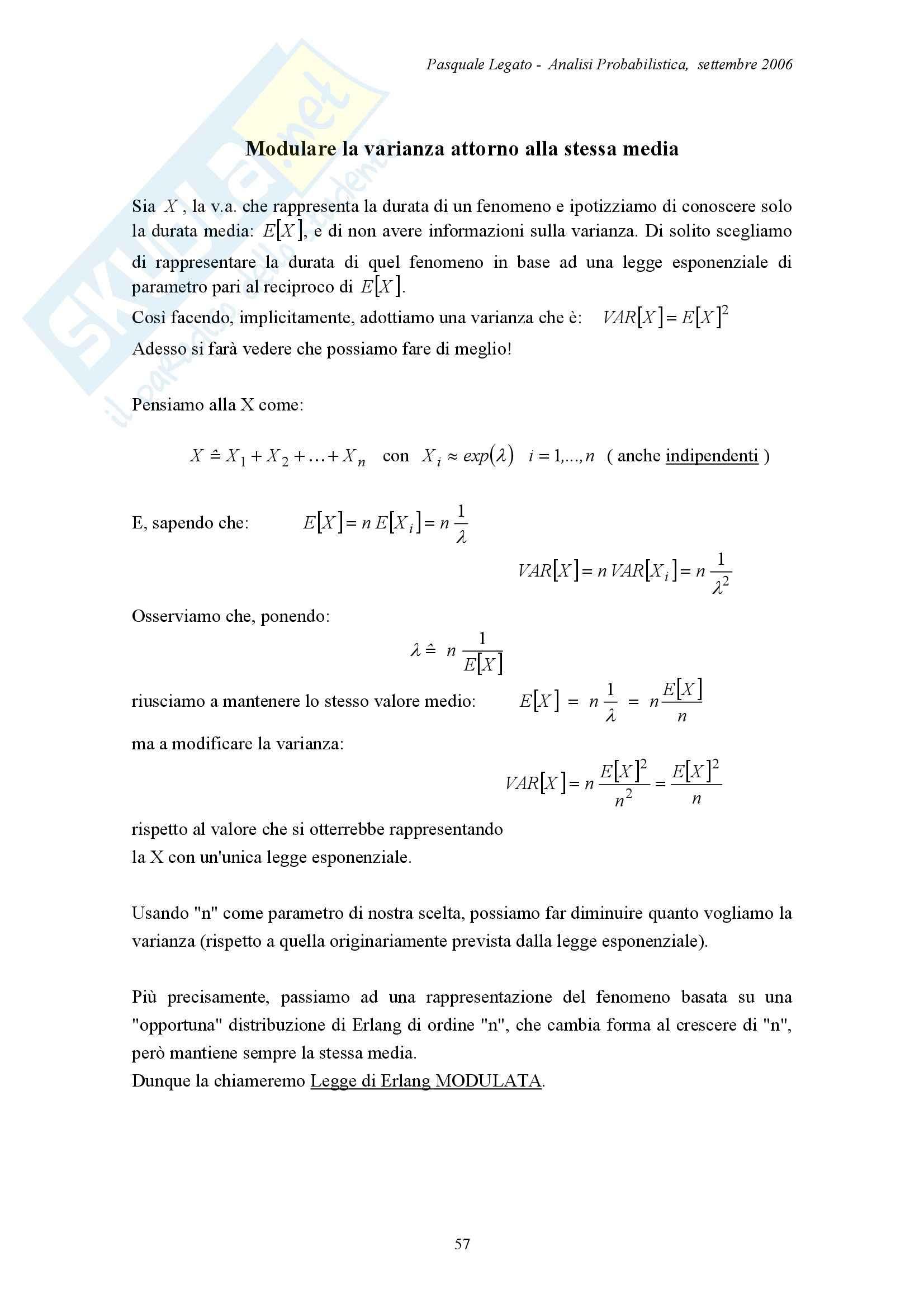 Analisi probabilistica - Appunti Pag. 11