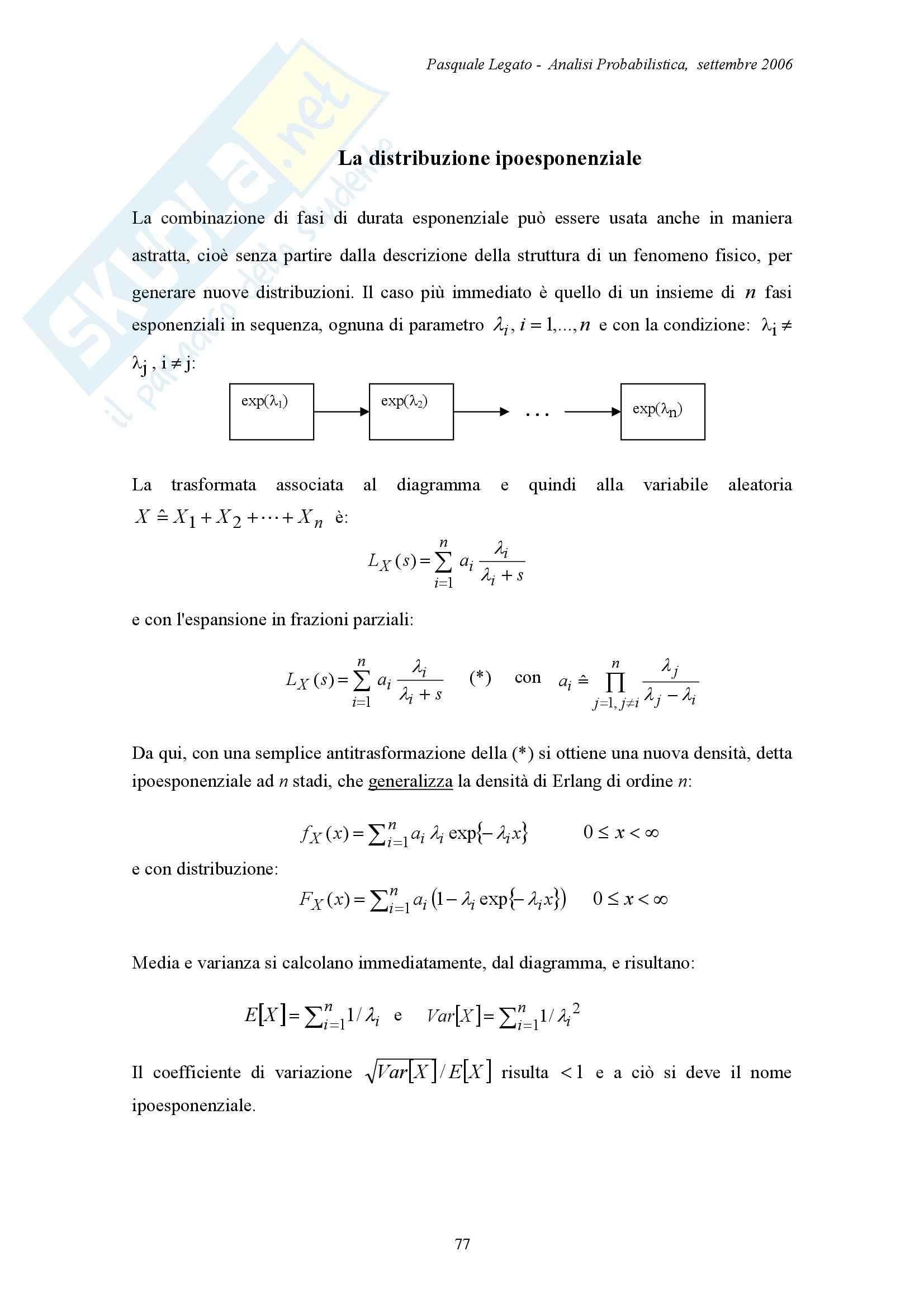 Analisi probabilistica - Appunti Pag. 31