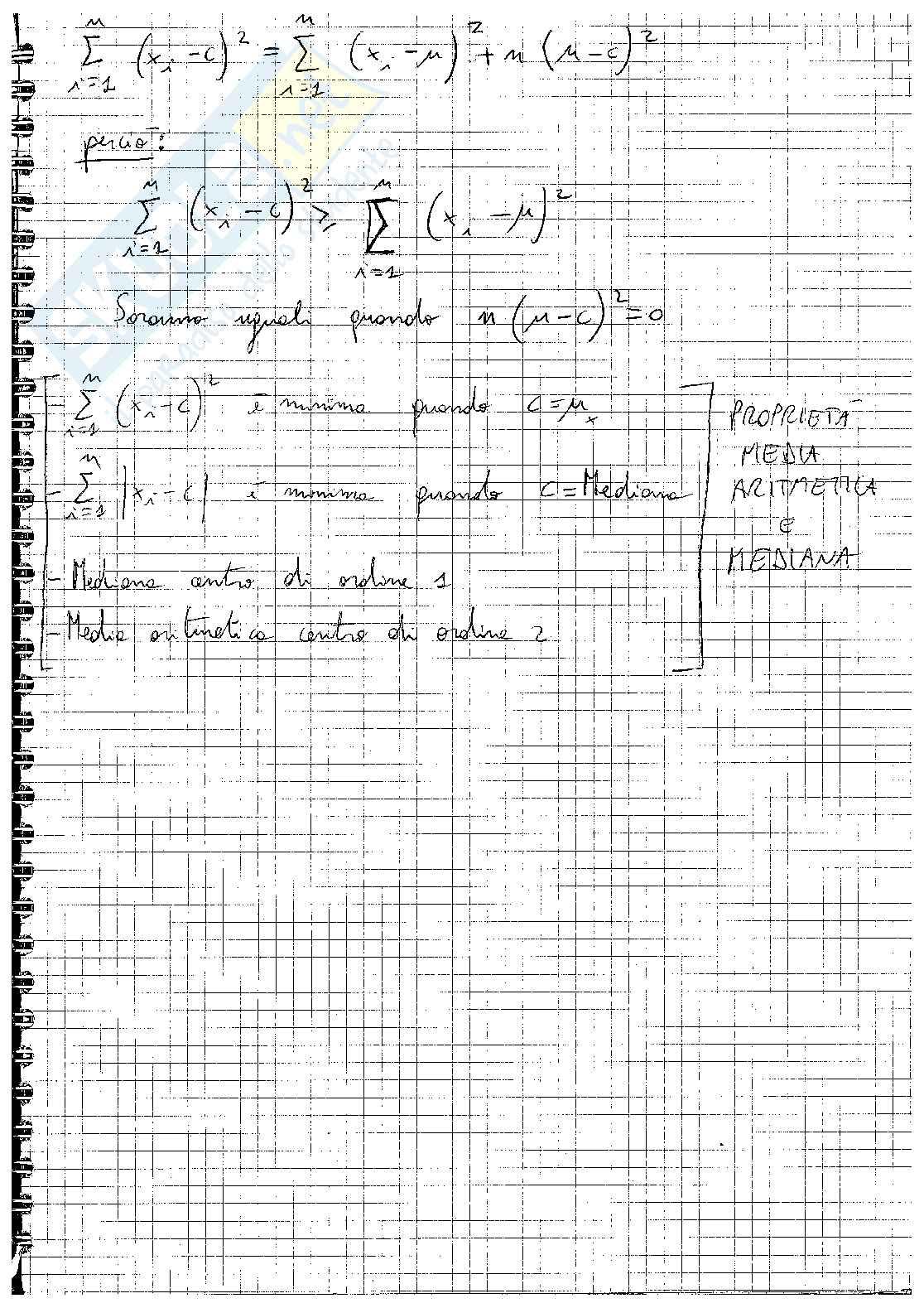 Statistica descrittiva Pag. 26
