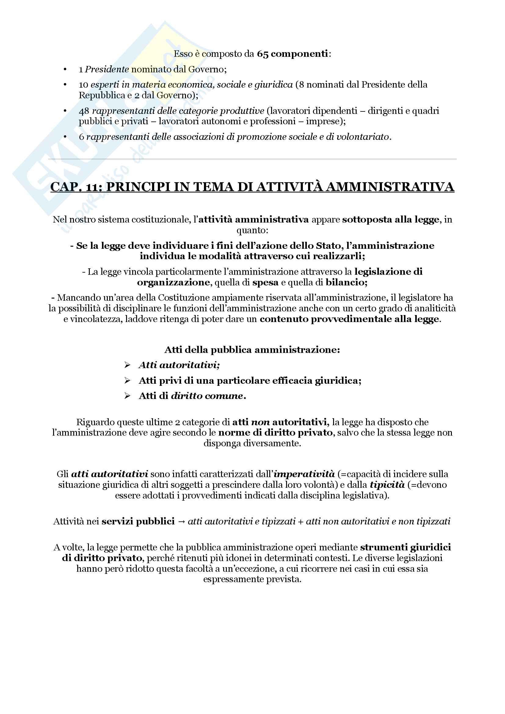 Schemi riassuntivi di istituzioni di diritto pubblico (libro di riferimento: Diritto costituzionale e pubblico, Carretti, De Siervo) Pag. 56