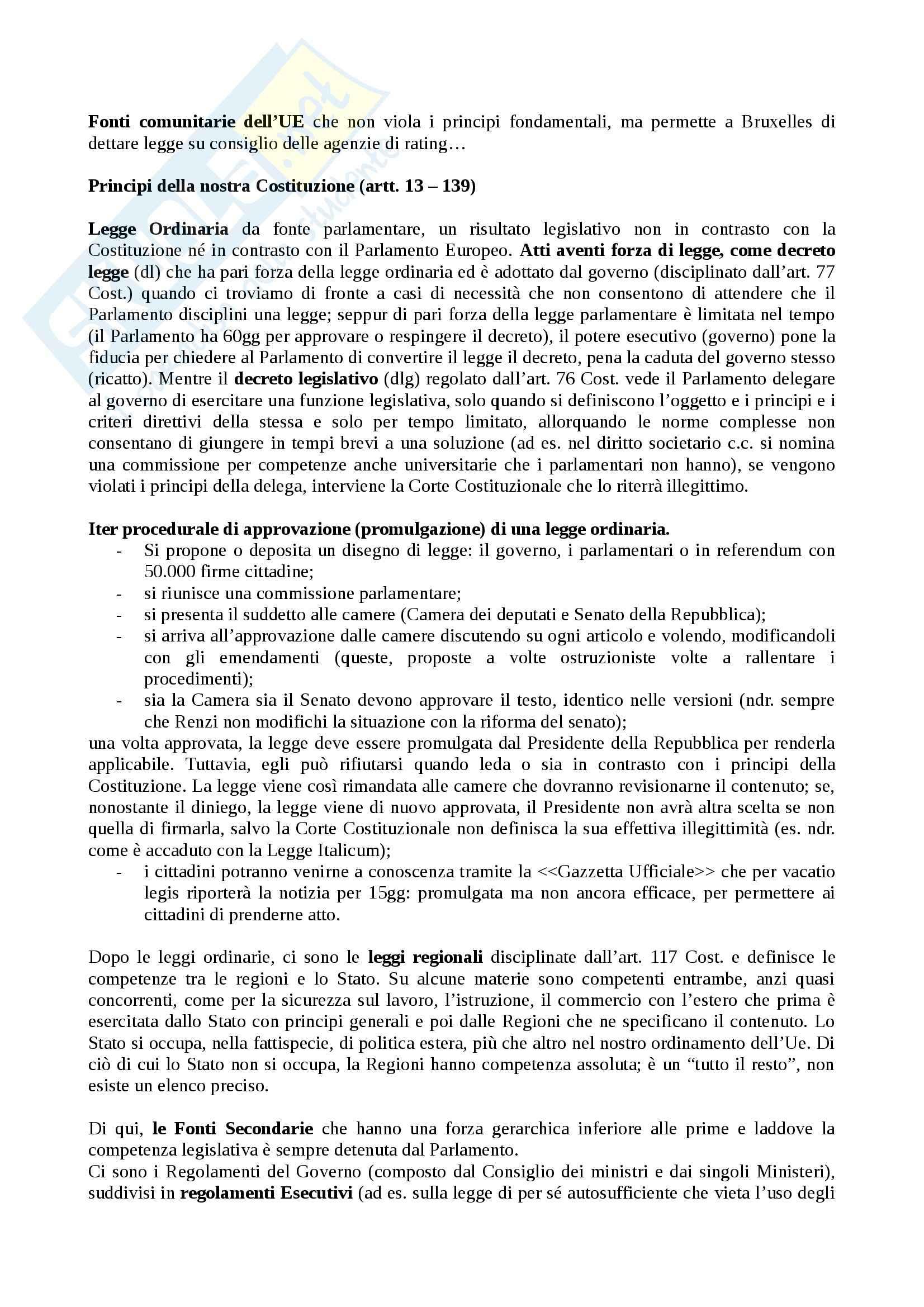 Diritto dell'informazione e della comunicazione - Appunti Pag. 2