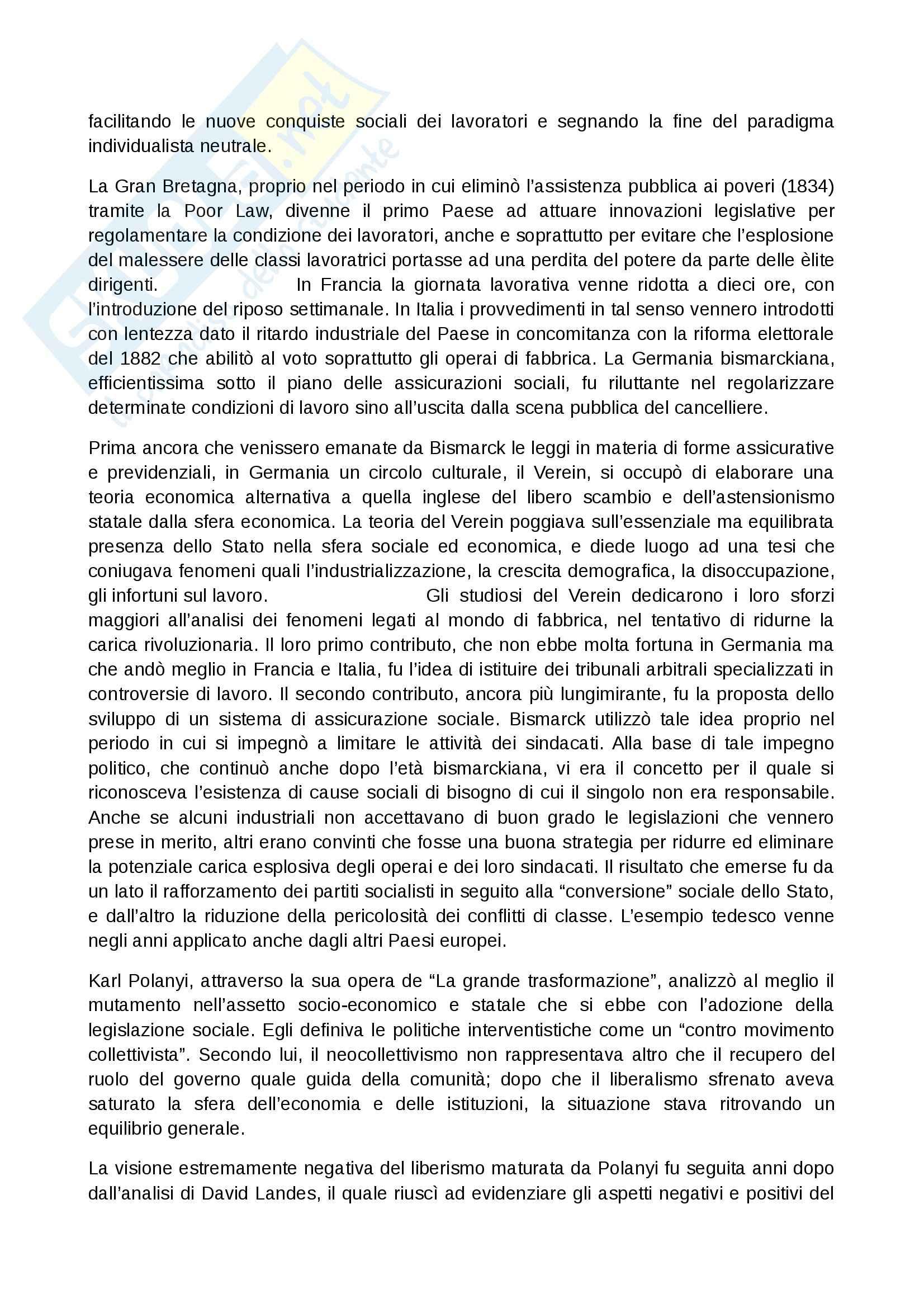 Riassunto esame Storia, prof. Chiavistelli, libro consigliato L'europa dall'Ottocento al Novecento, Meriggi Pag. 6
