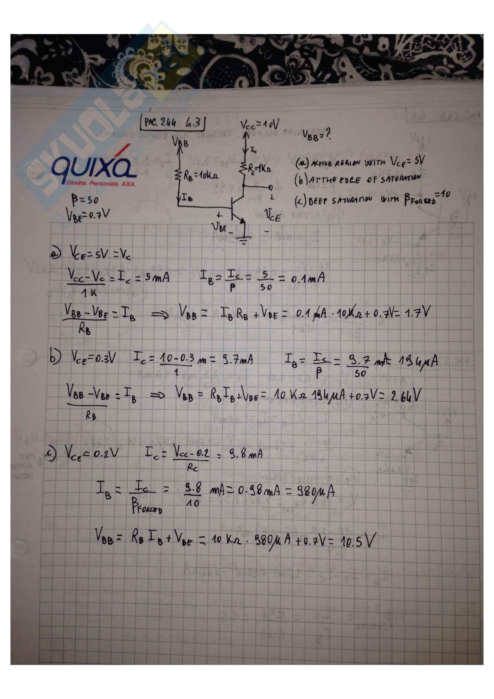 Elettronica 1 - Appunti e esercizi Pag. 31