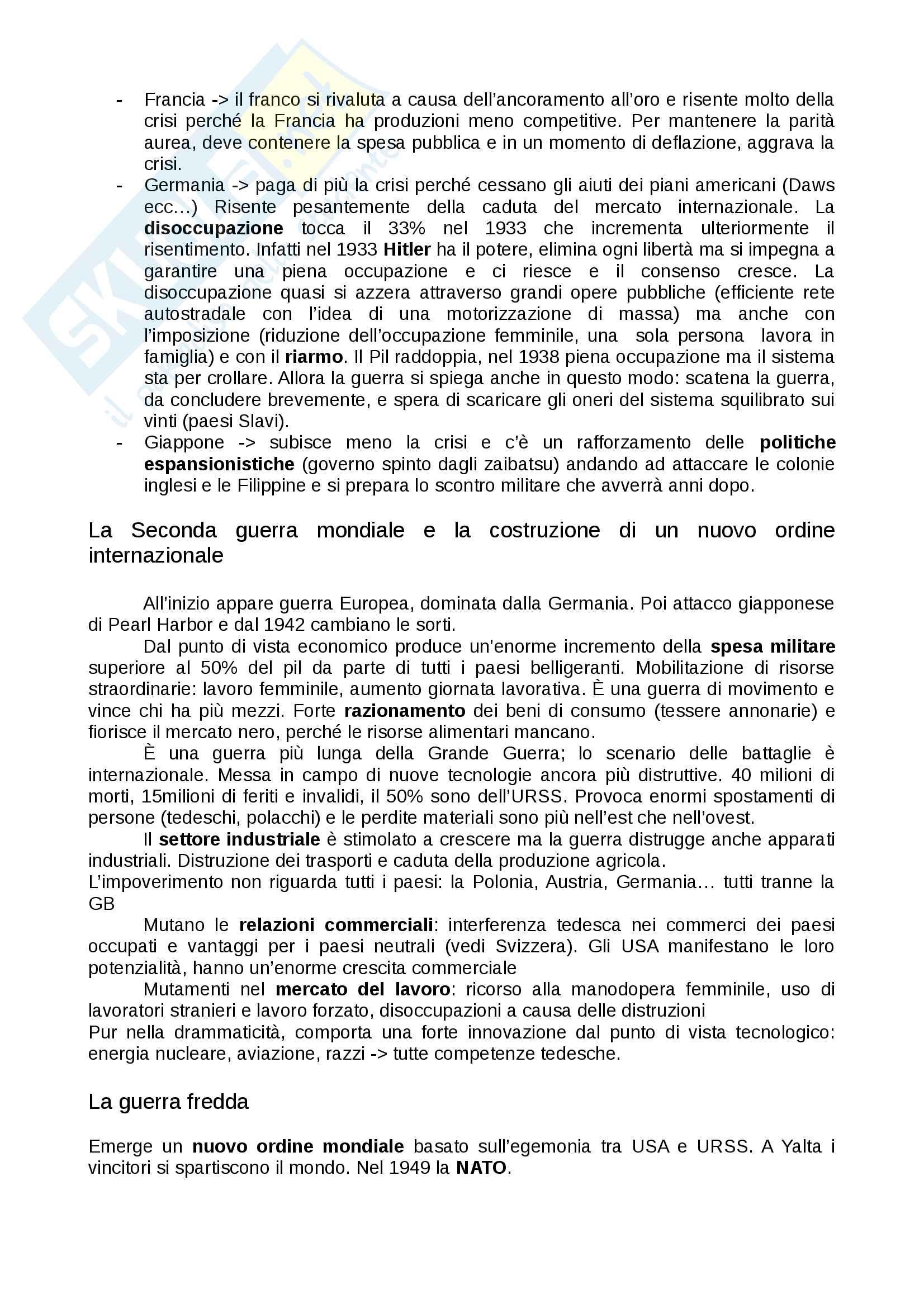 Appunti Storia economica Besana UNICATT Pag. 11
