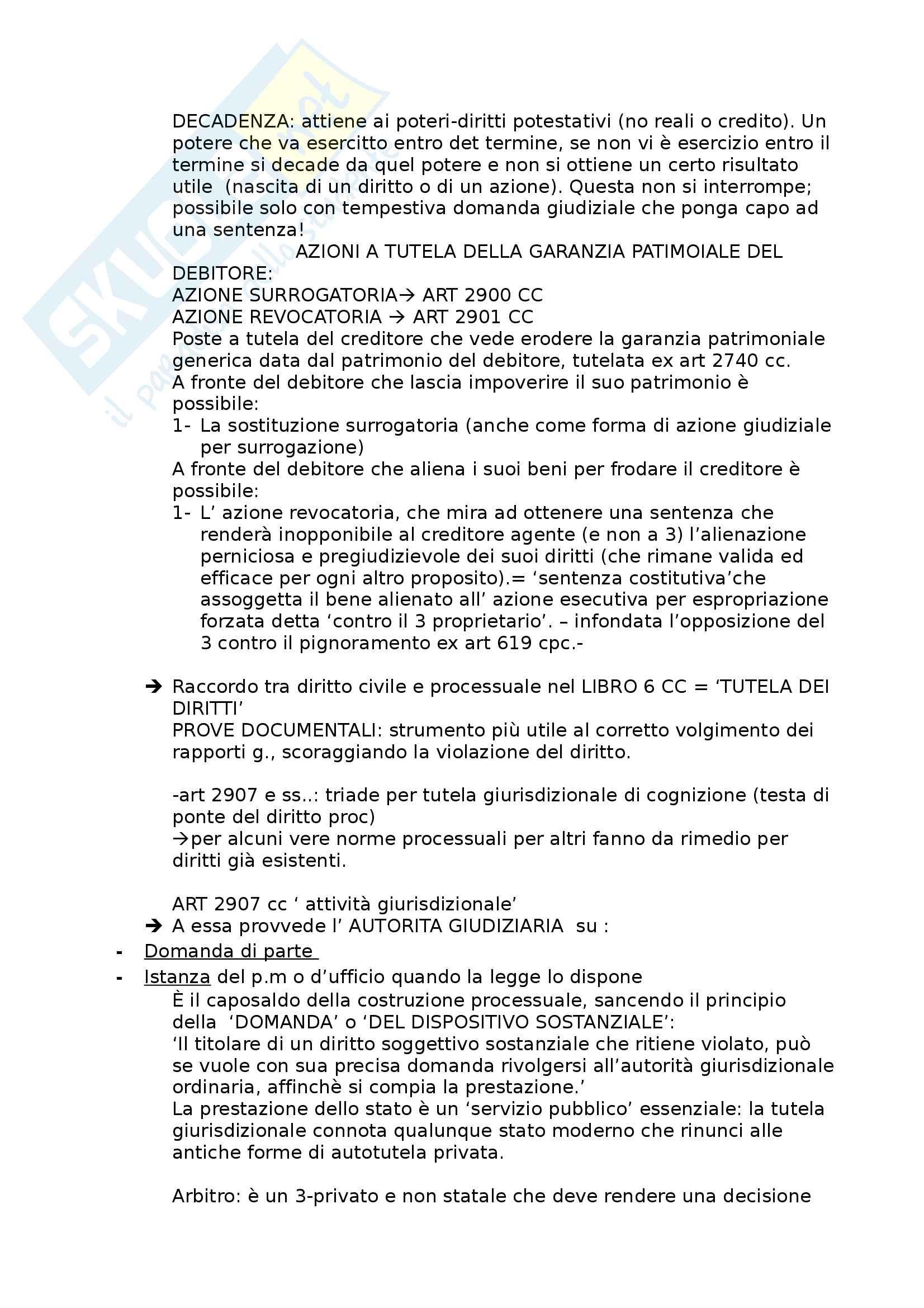 Riassunto esame procedura civile, prof Consolo. Libro consigliato Spiegazioni di diritto processuale civile, Consolo Pag. 2