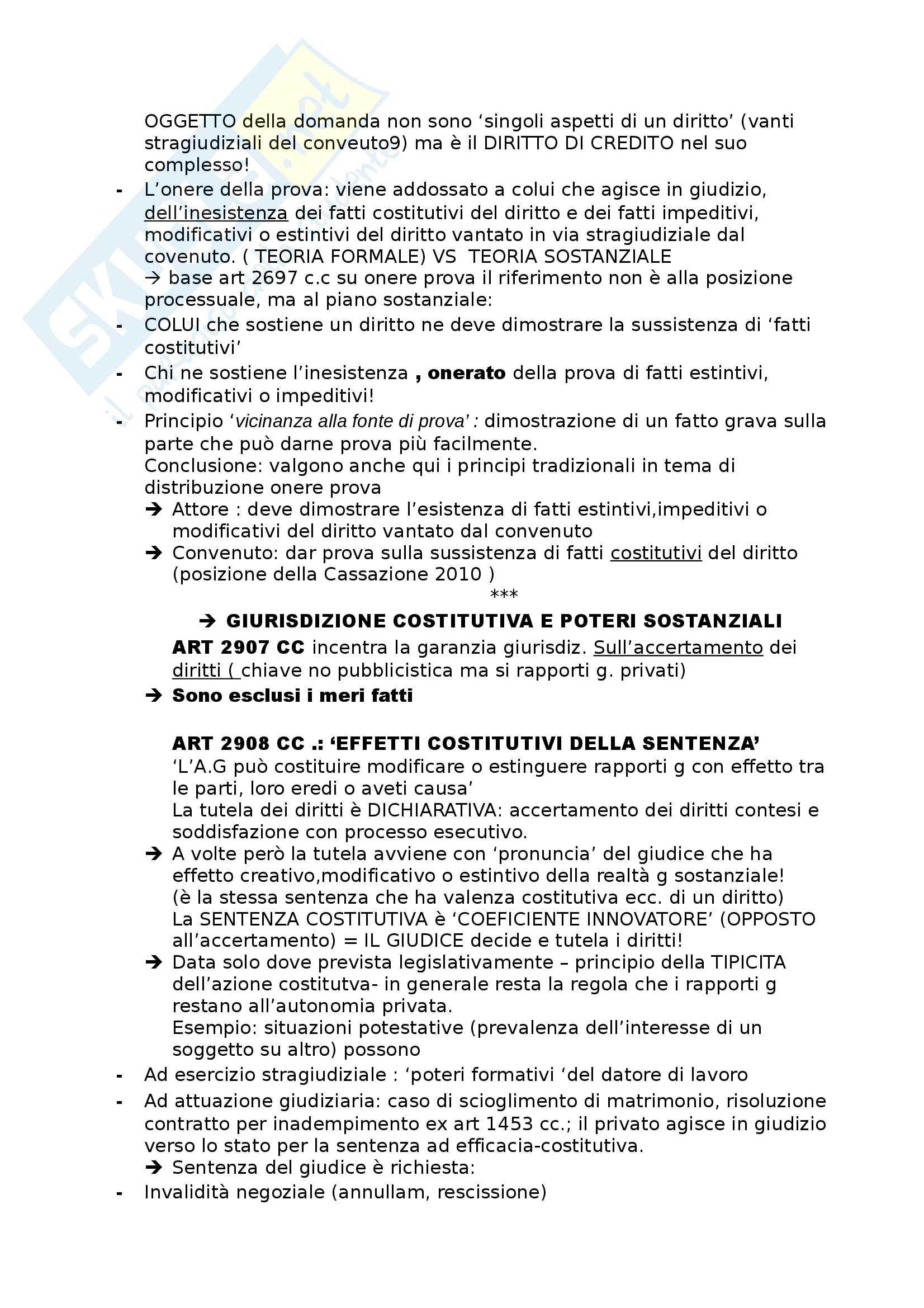 Riassunto esame procedura civile, prof Consolo. Libro consigliato Spiegazioni di diritto processuale civile, Consolo Pag. 6