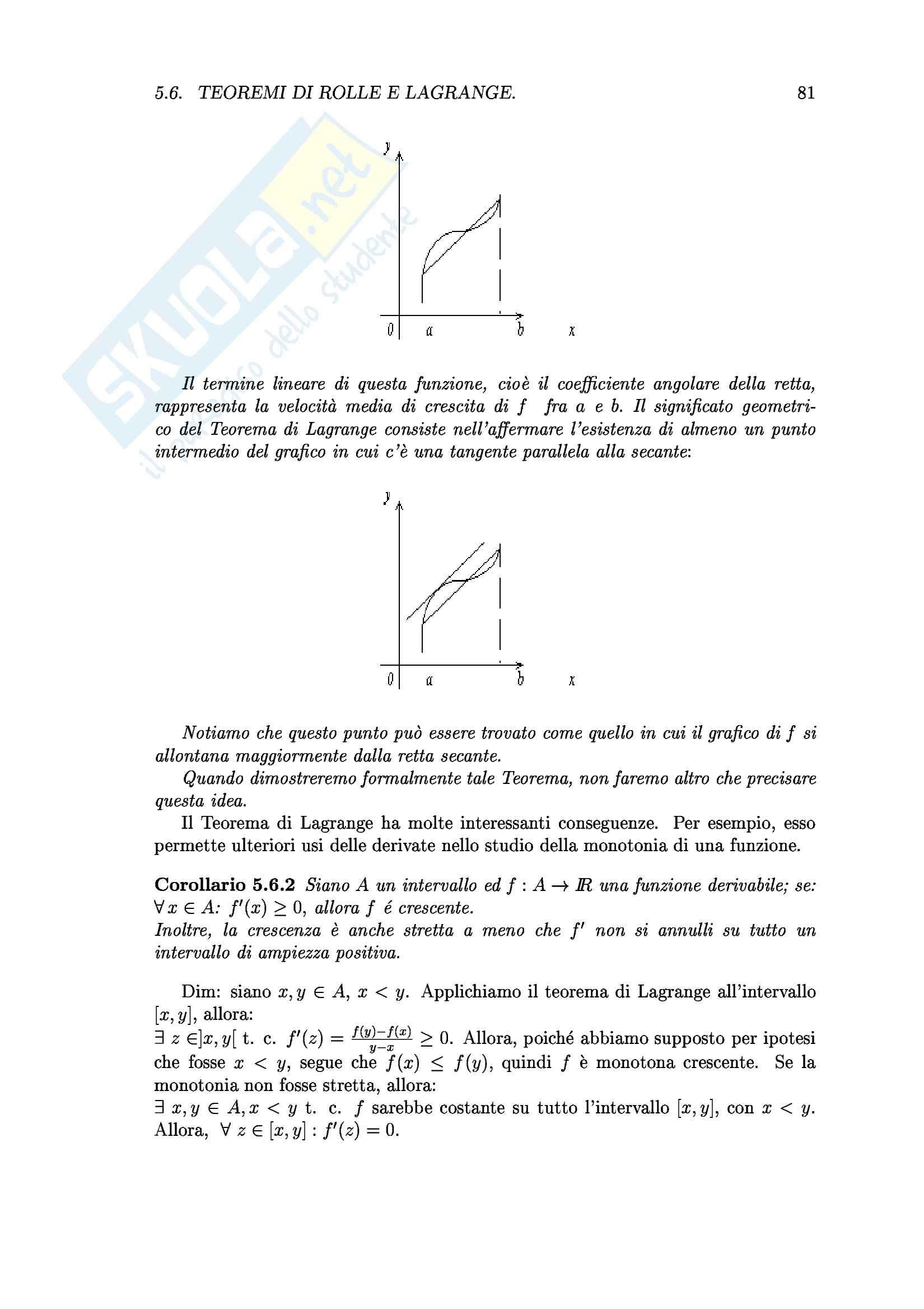 Analisi I  - Sette capitoli Pag. 81