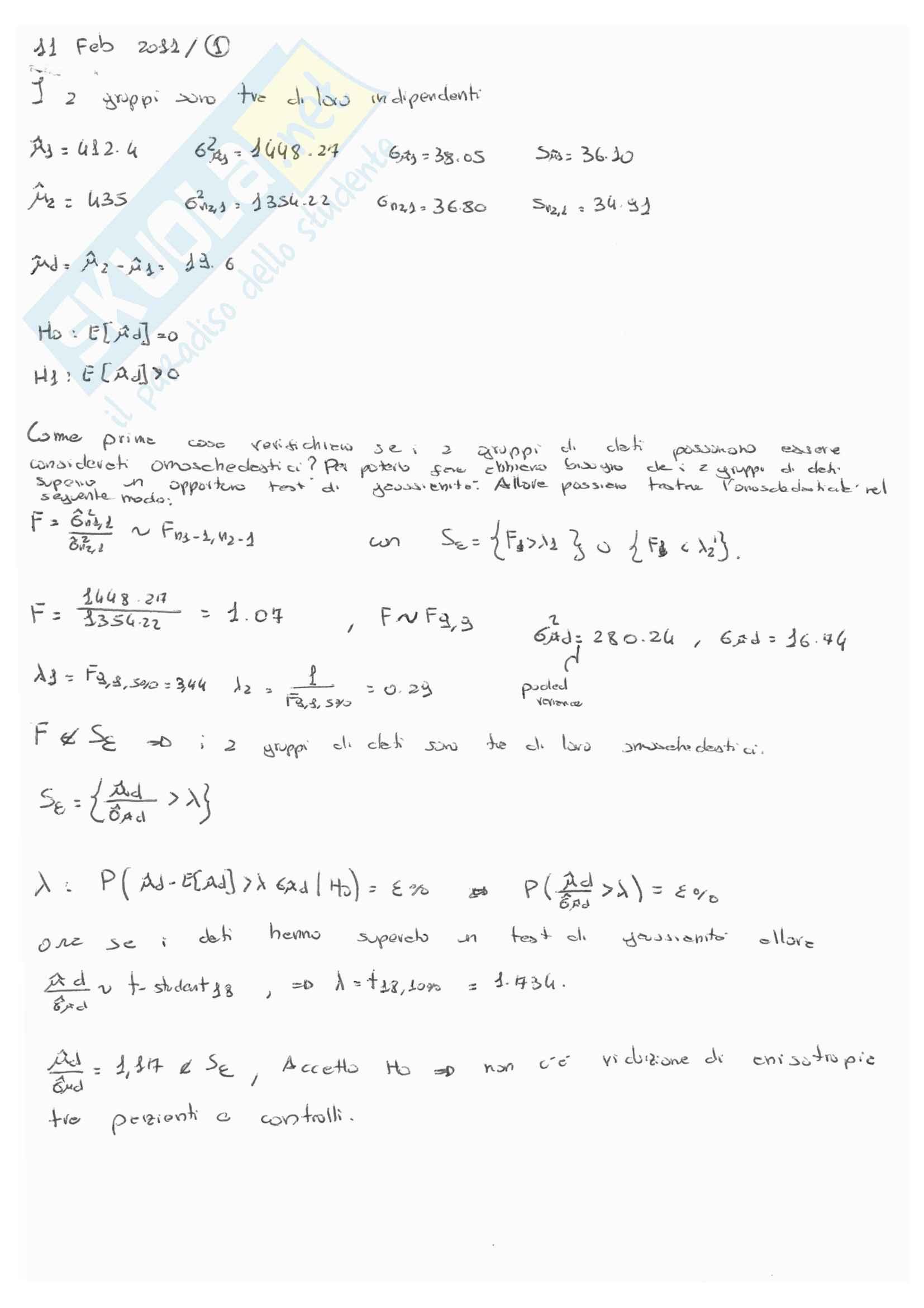 Soluzioni esami modellistica e identificazione De Santis