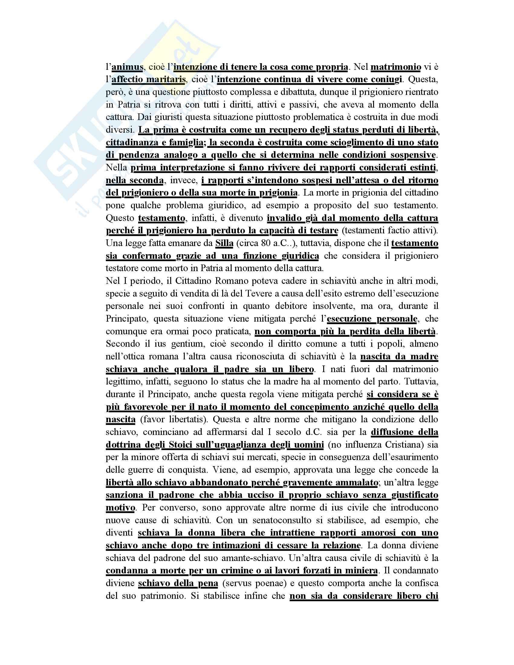 Diritto romano - Appunti dal Talamanca Pag. 6