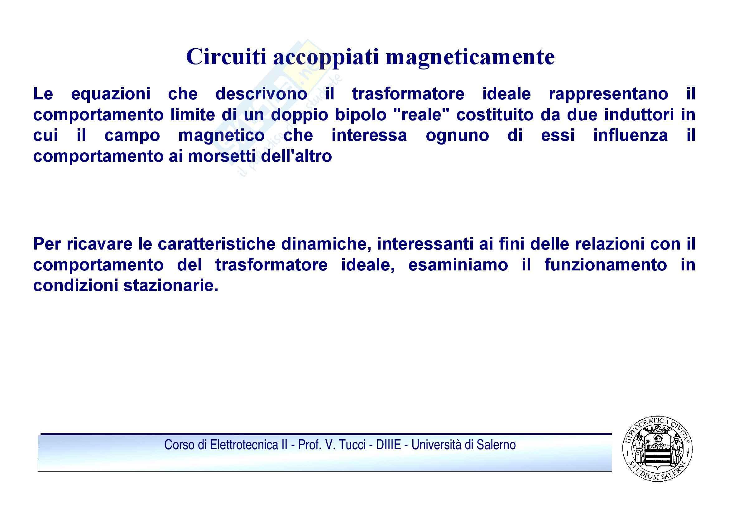 Doppi bipoli - regime sinusoidale Pag. 16