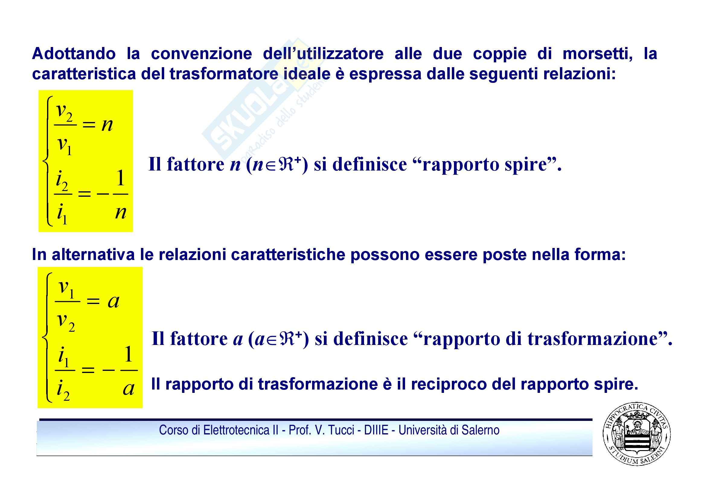 Doppi bipoli - regime sinusoidale Pag. 6