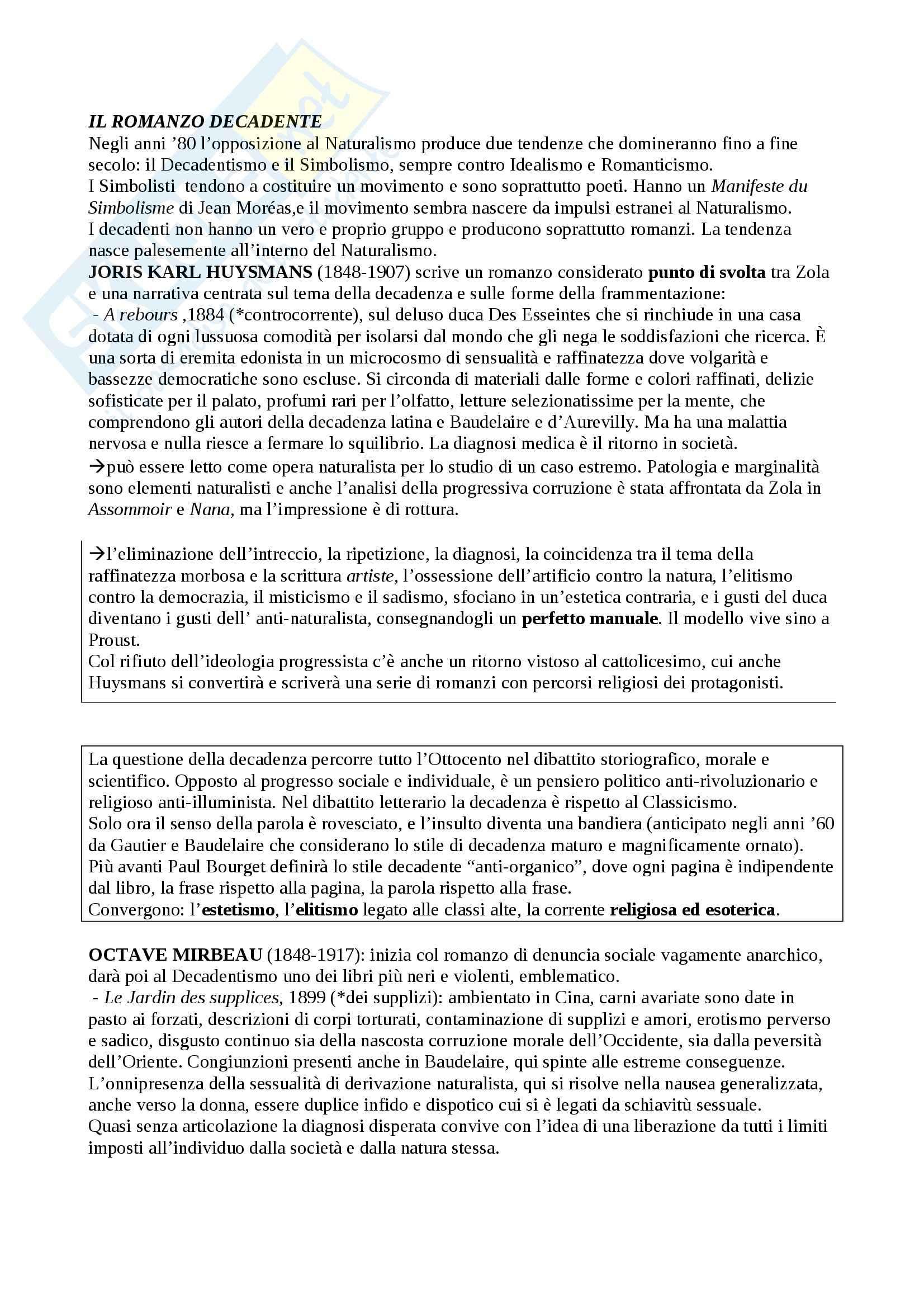 Riassunto esame Letteratura francese, prof. Guaraldo, libro consigliato Il romanzo francese dell'Ottocento, Scaiola Pag. 26