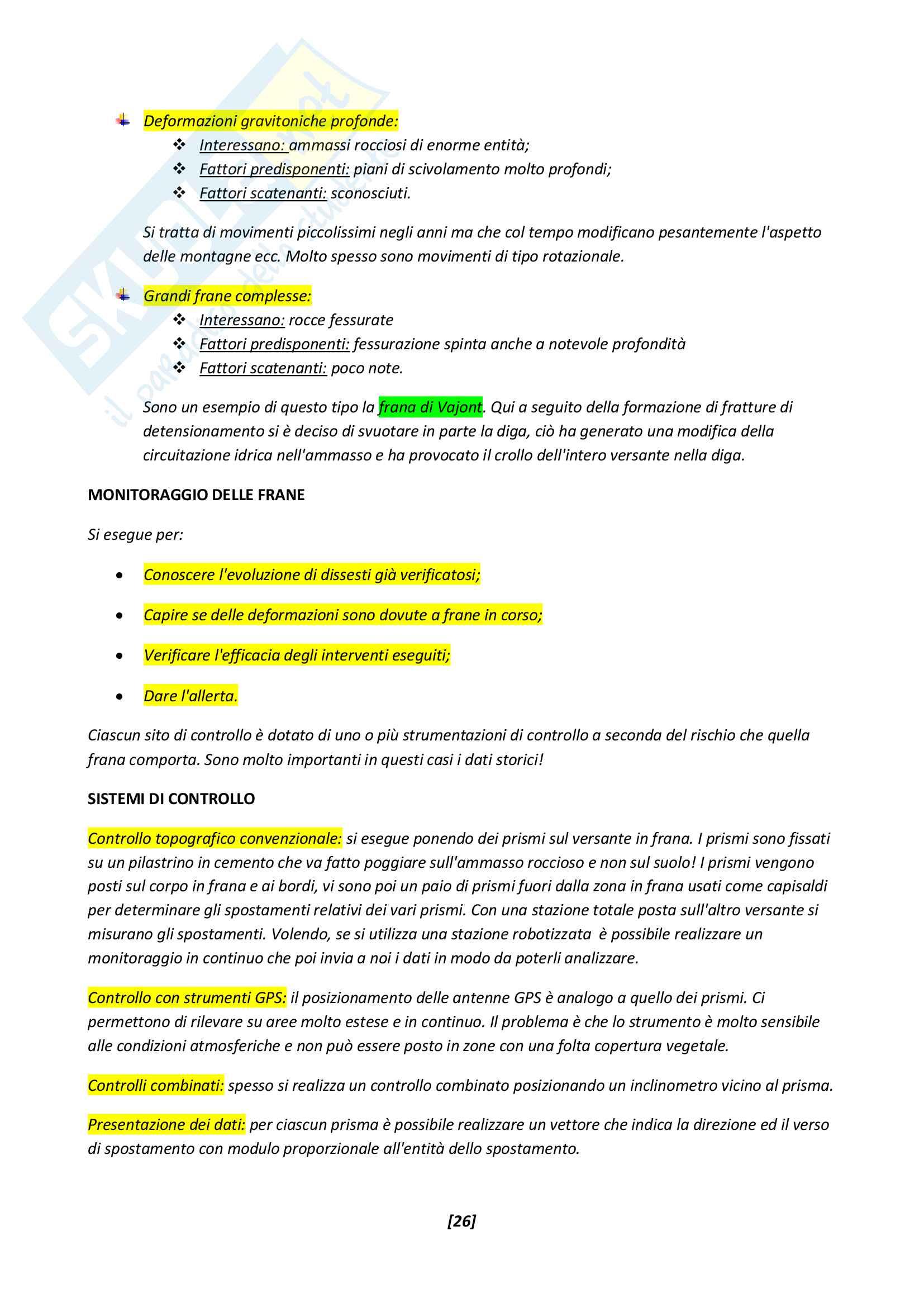 Appunti Geologia applicata Pag. 26