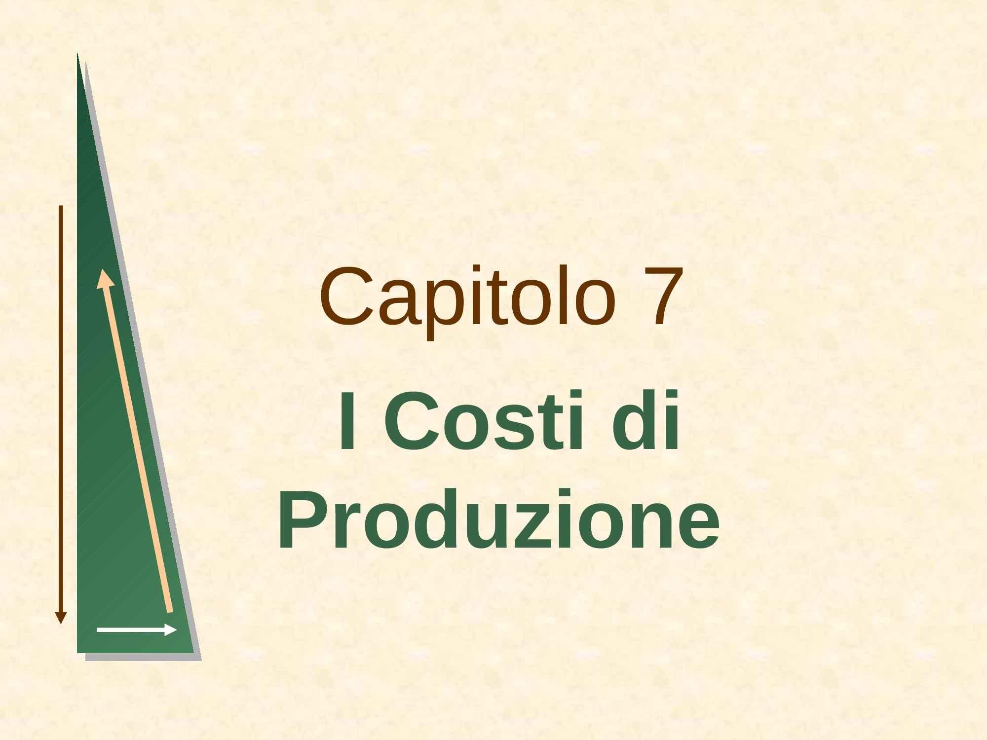 Produzione - Costi