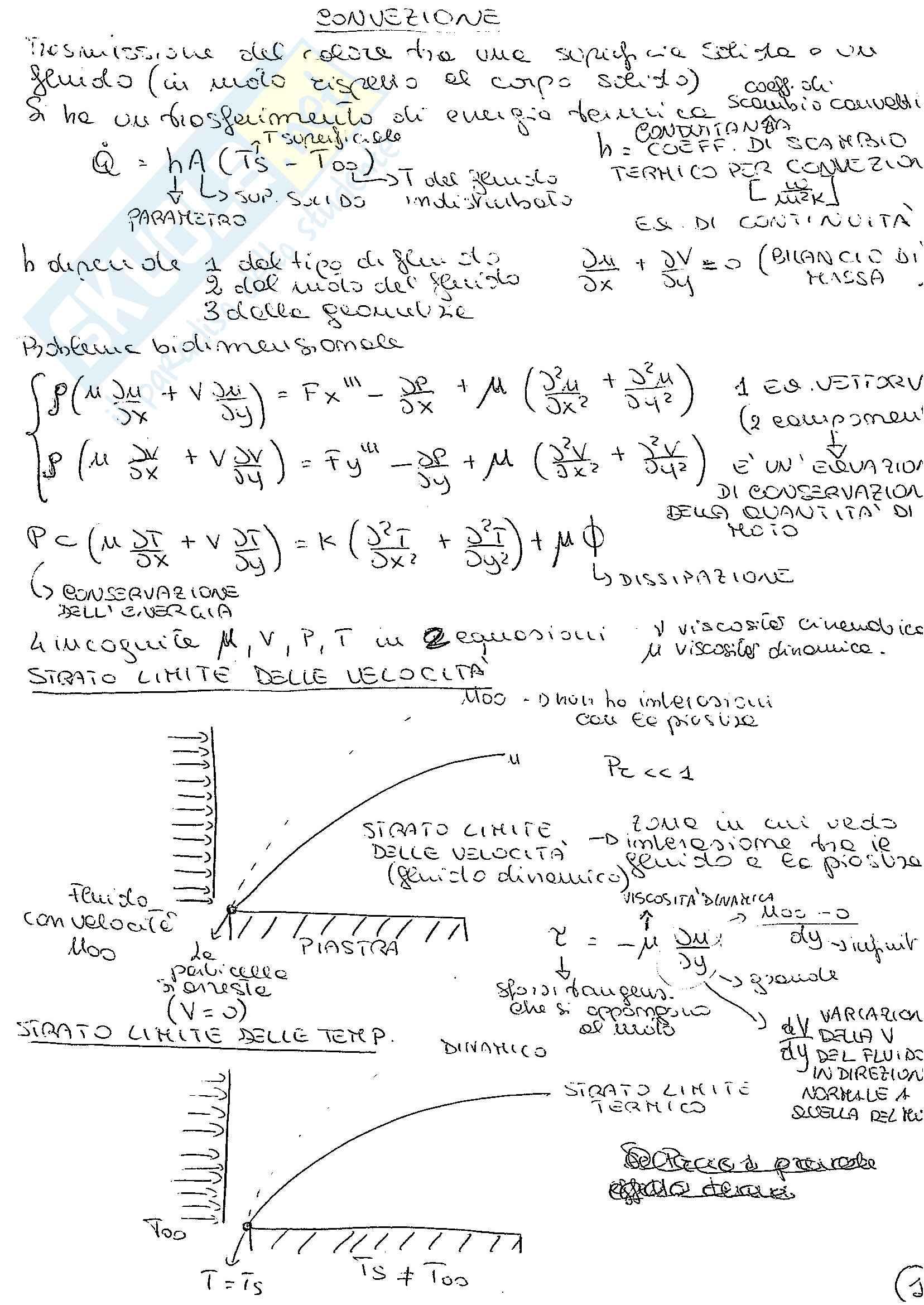 Appunti fisica tecnica