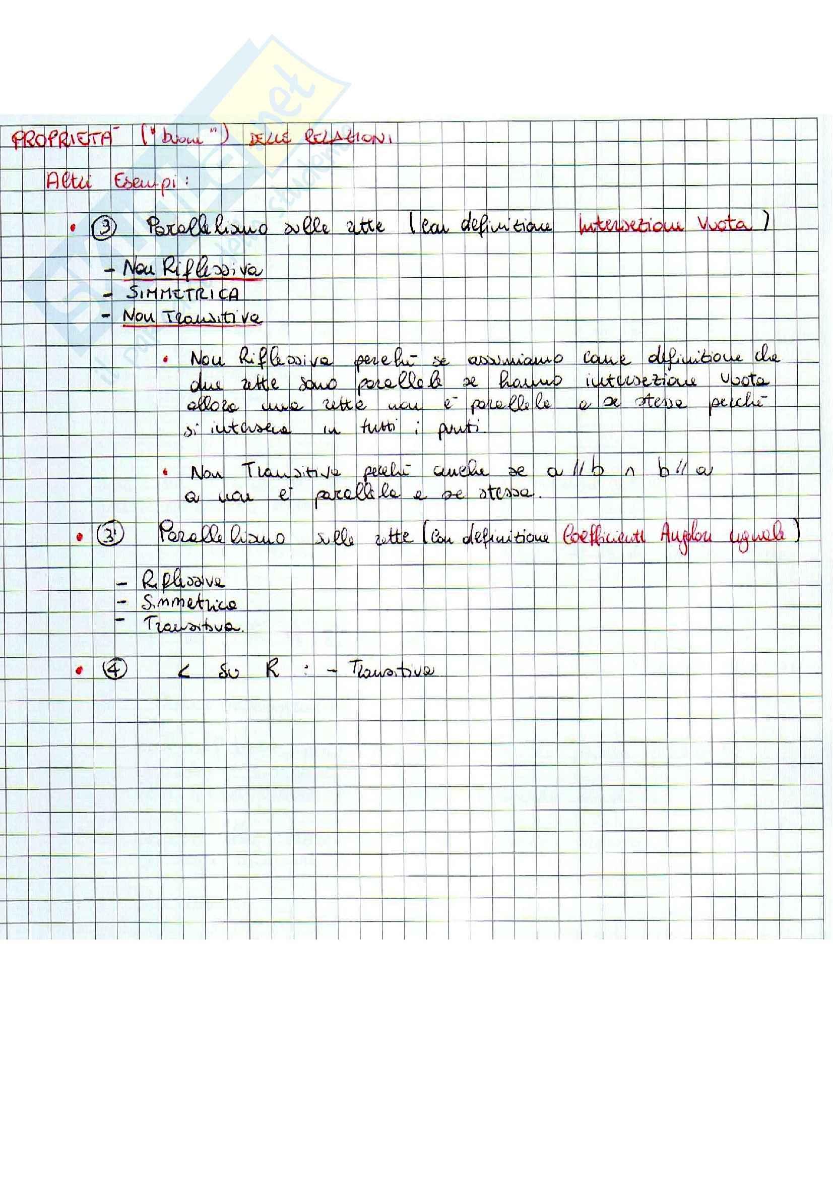 Geometria - Teoria degli Insiemi Pag. 6