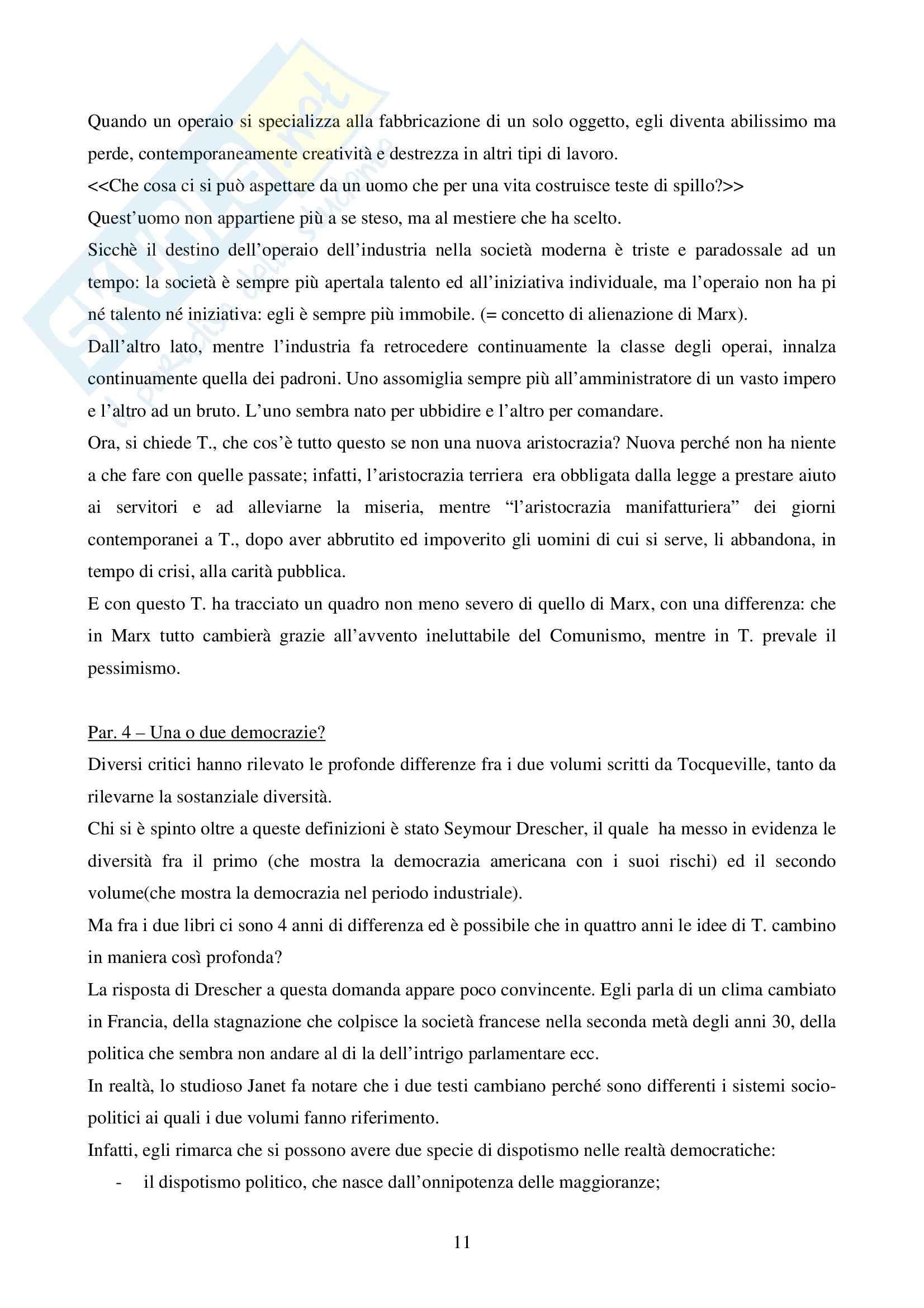 Storia del pensiero liberale, Bedeschi - Appunti Pag. 11