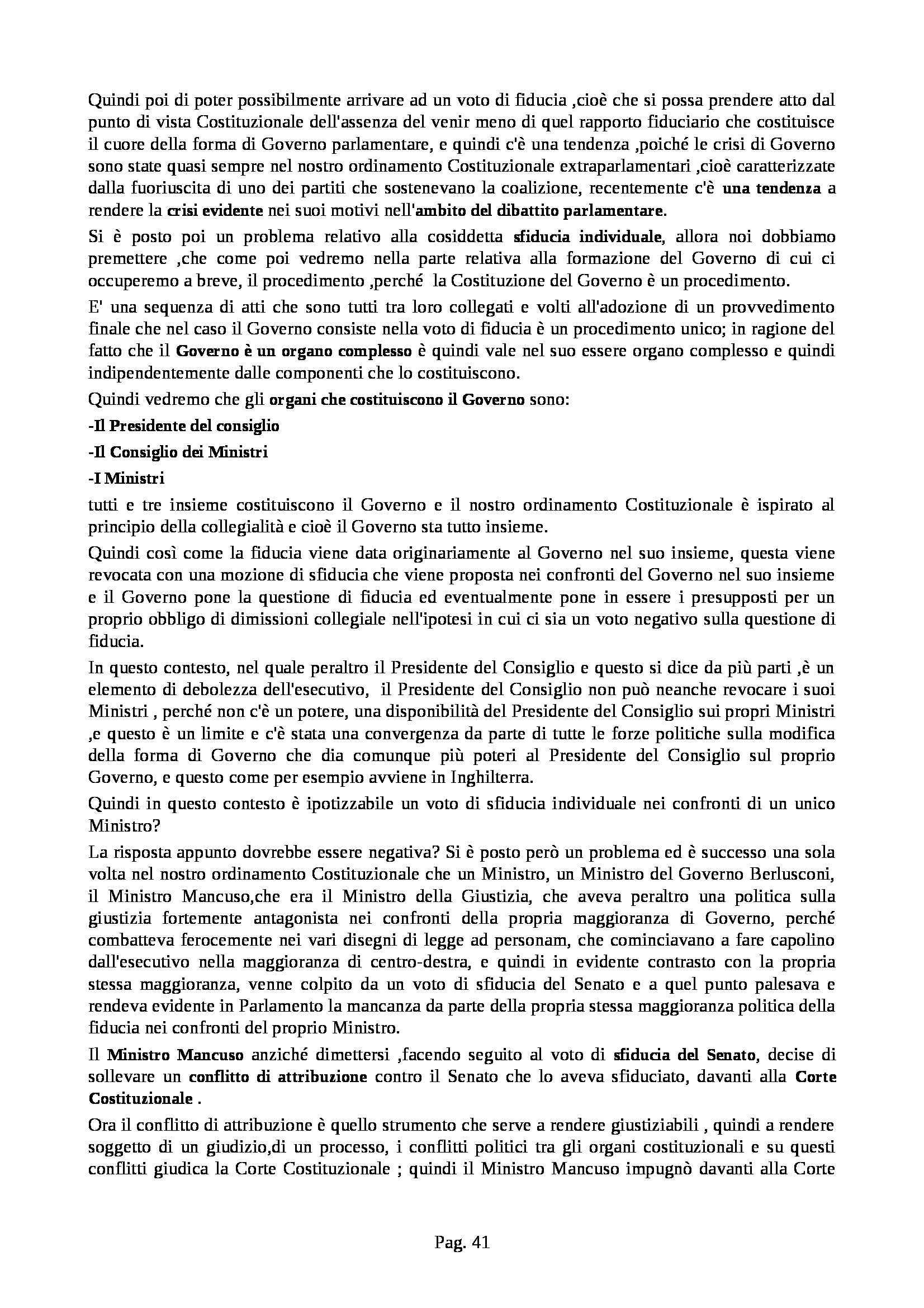 Diritto pubblico - lezioni complete Pag. 41