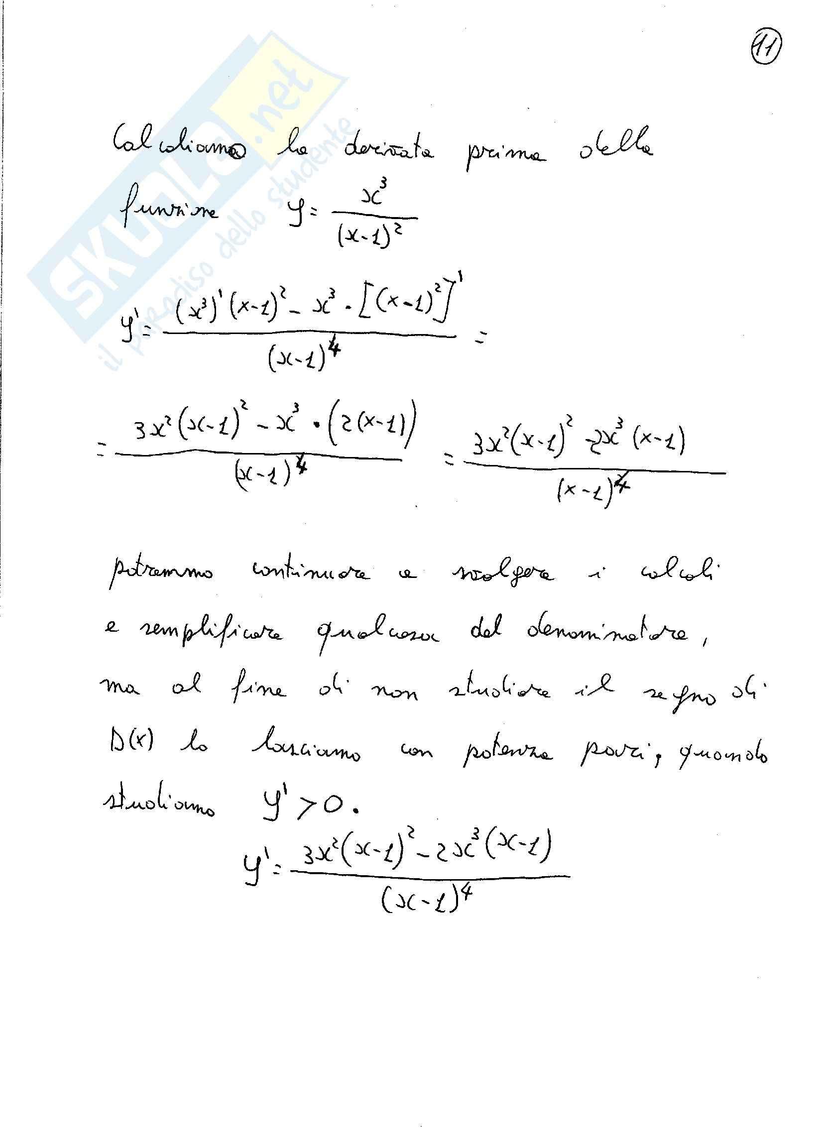 Analisi matematica 1 - esercizi Svolti sulle funzioni razionali fratte Pag. 11