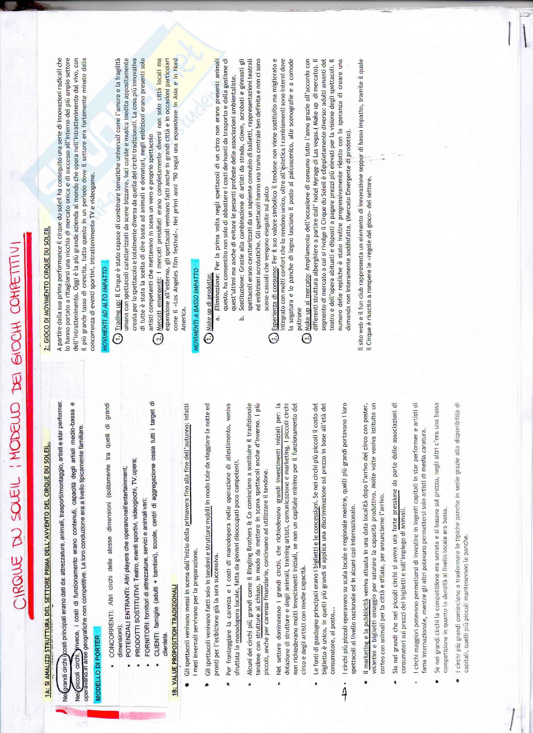 Appunti di Strategia aziendale Pag. 41
