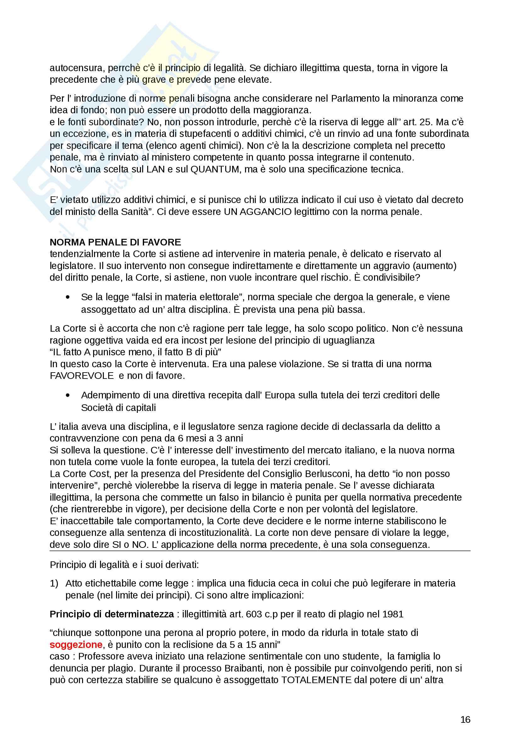 Appunti Diritto penale generale Pag. 16