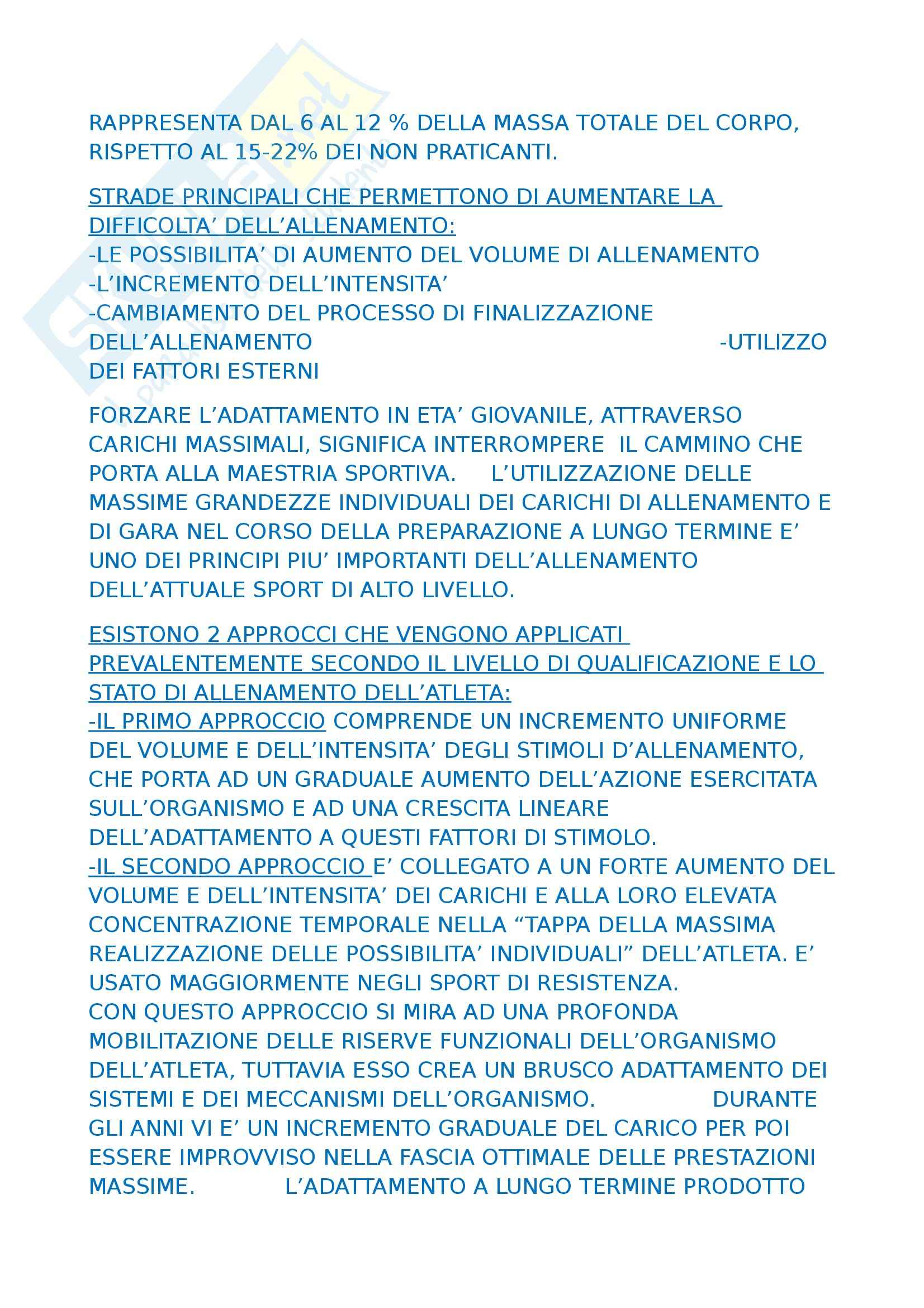 Metodi e didattiche delle attività sportive I - Platonov Pag. 21