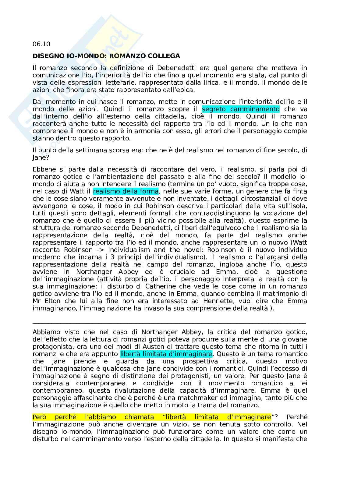 Evoluzione del novel 2 e Romanzo di formazione Pag. 1