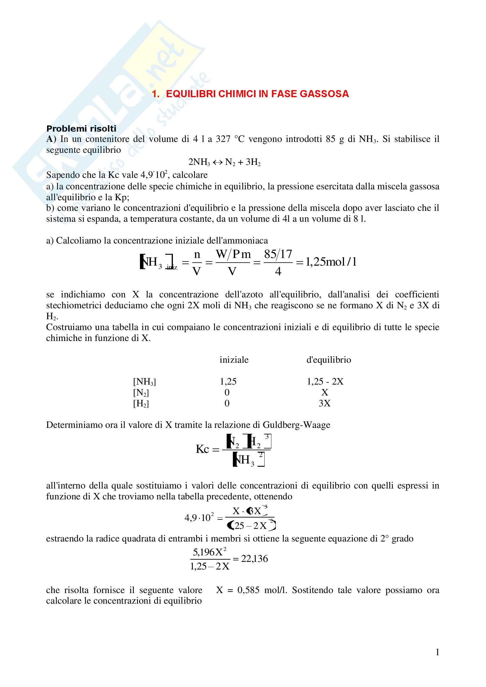 Esercizi di chimica parte 2 Pag. 2