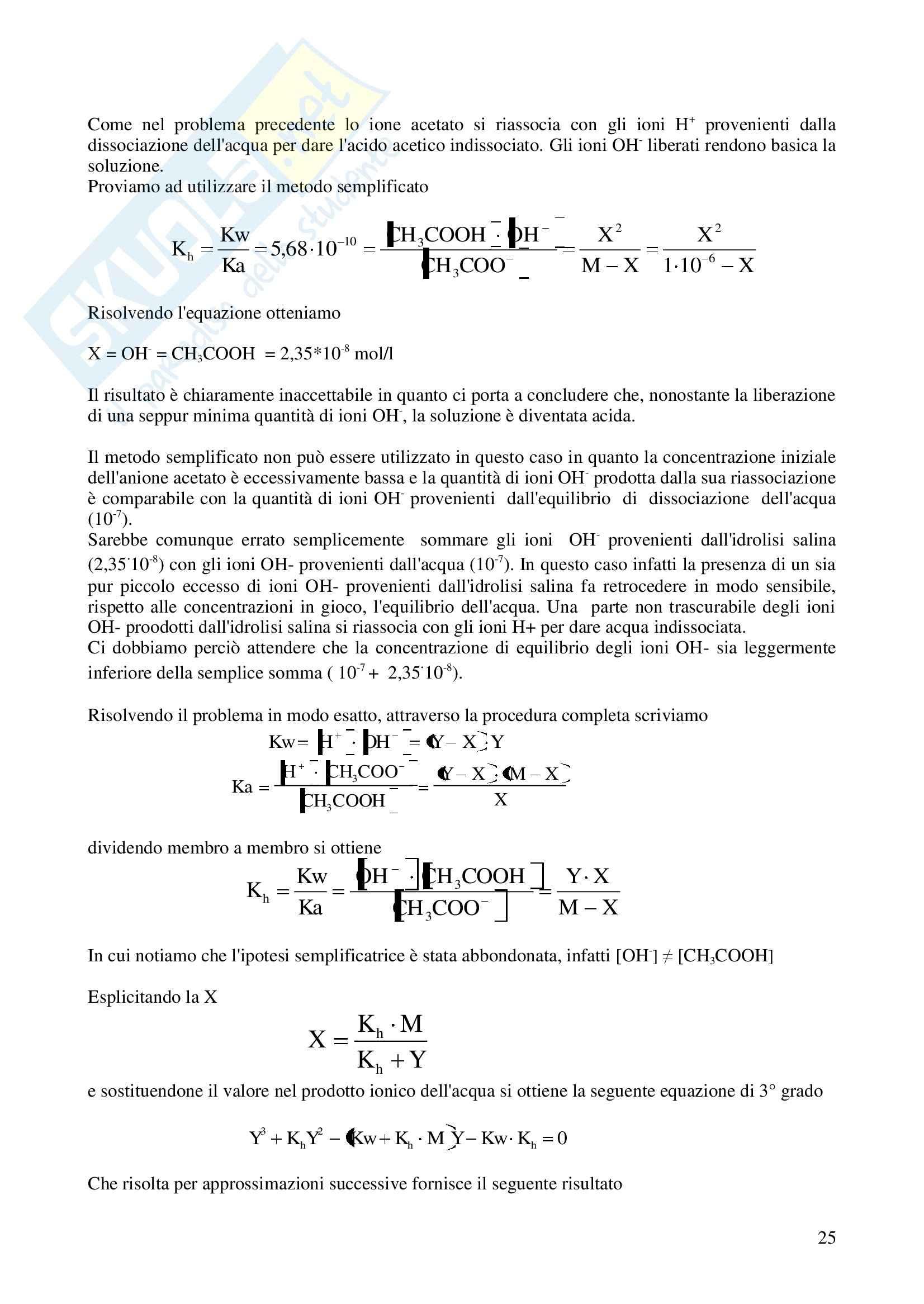 Esercizi di chimica parte 2 Pag. 26