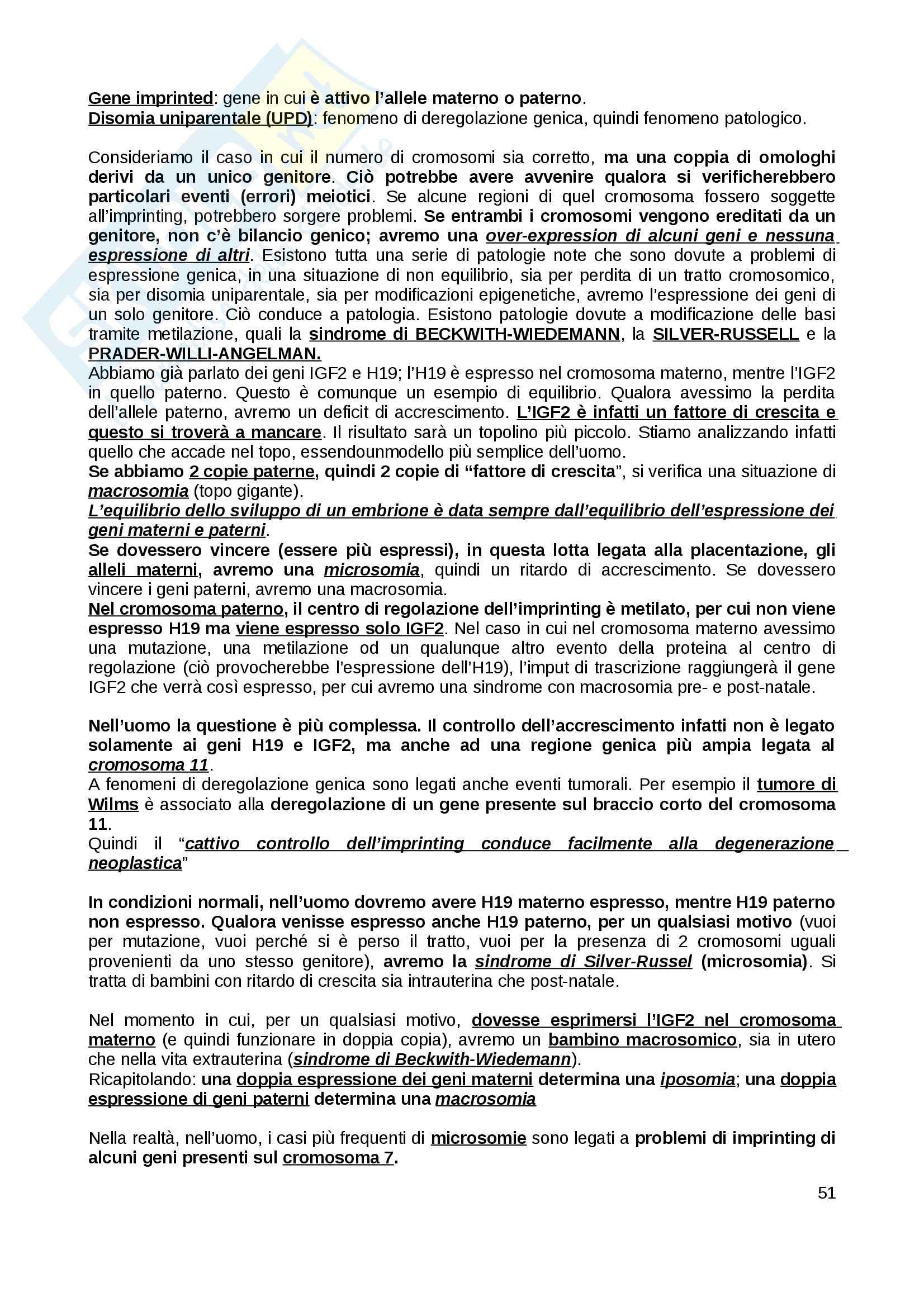 Genetica medica Pag. 51