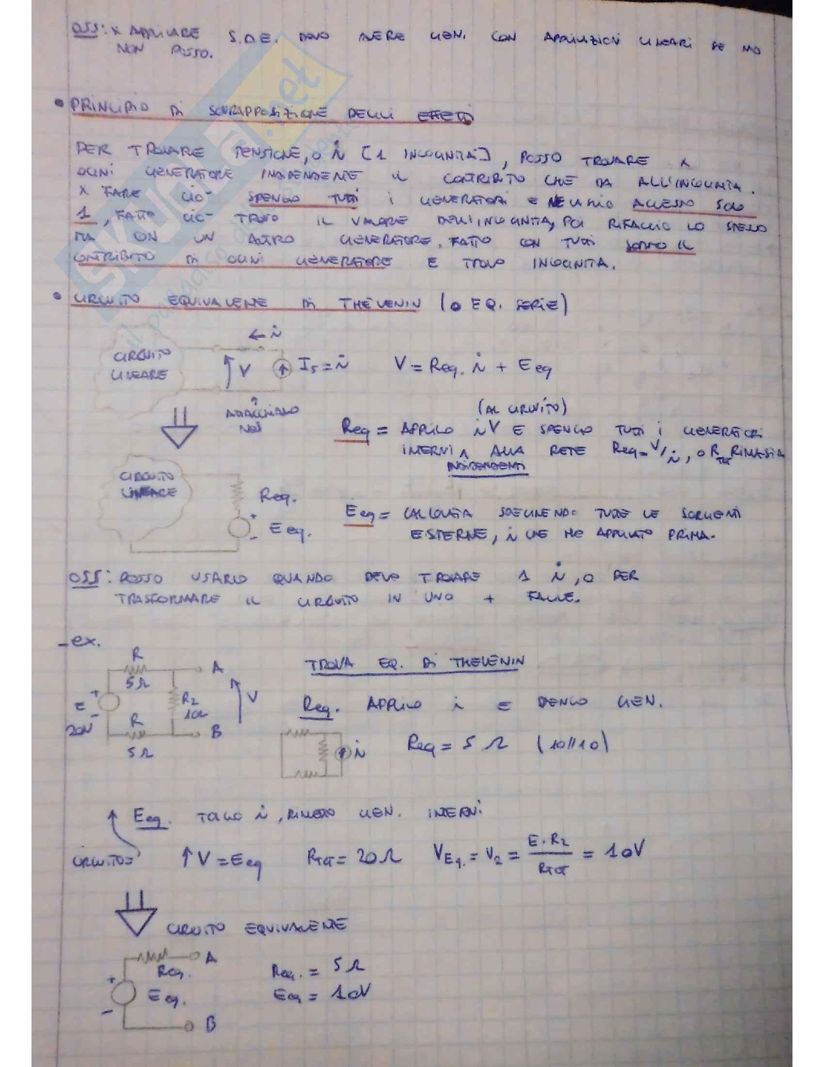 Appunti elettrotecnica Pag. 6